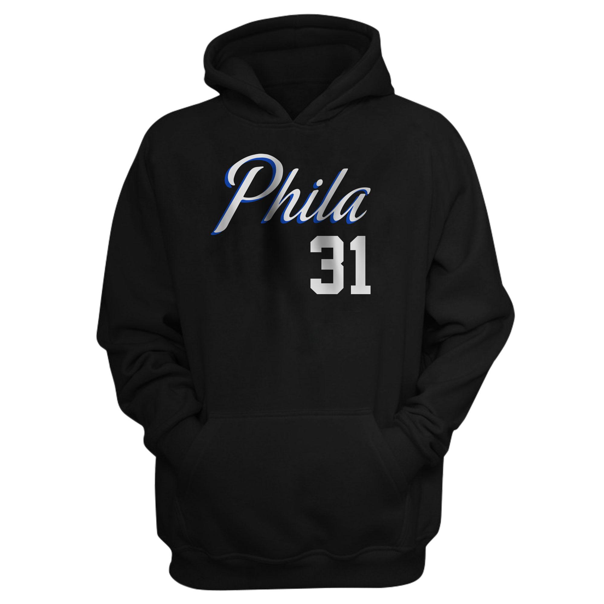 Philadelphia 76ers Seth Curry  Hoodie (HD-BLC-NP-504-31)
