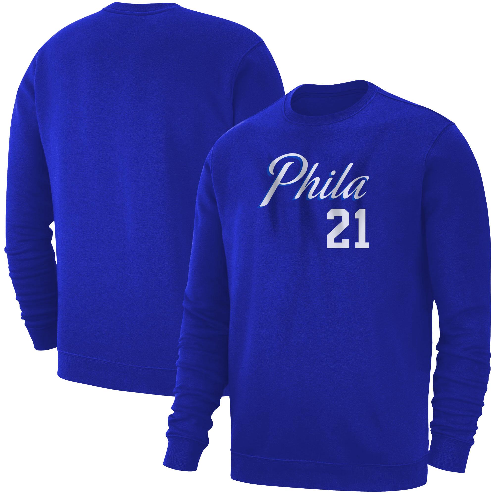 Philadelphia 76ers Joel Embiid Basic (BSC-BLU-PLT-504-21)