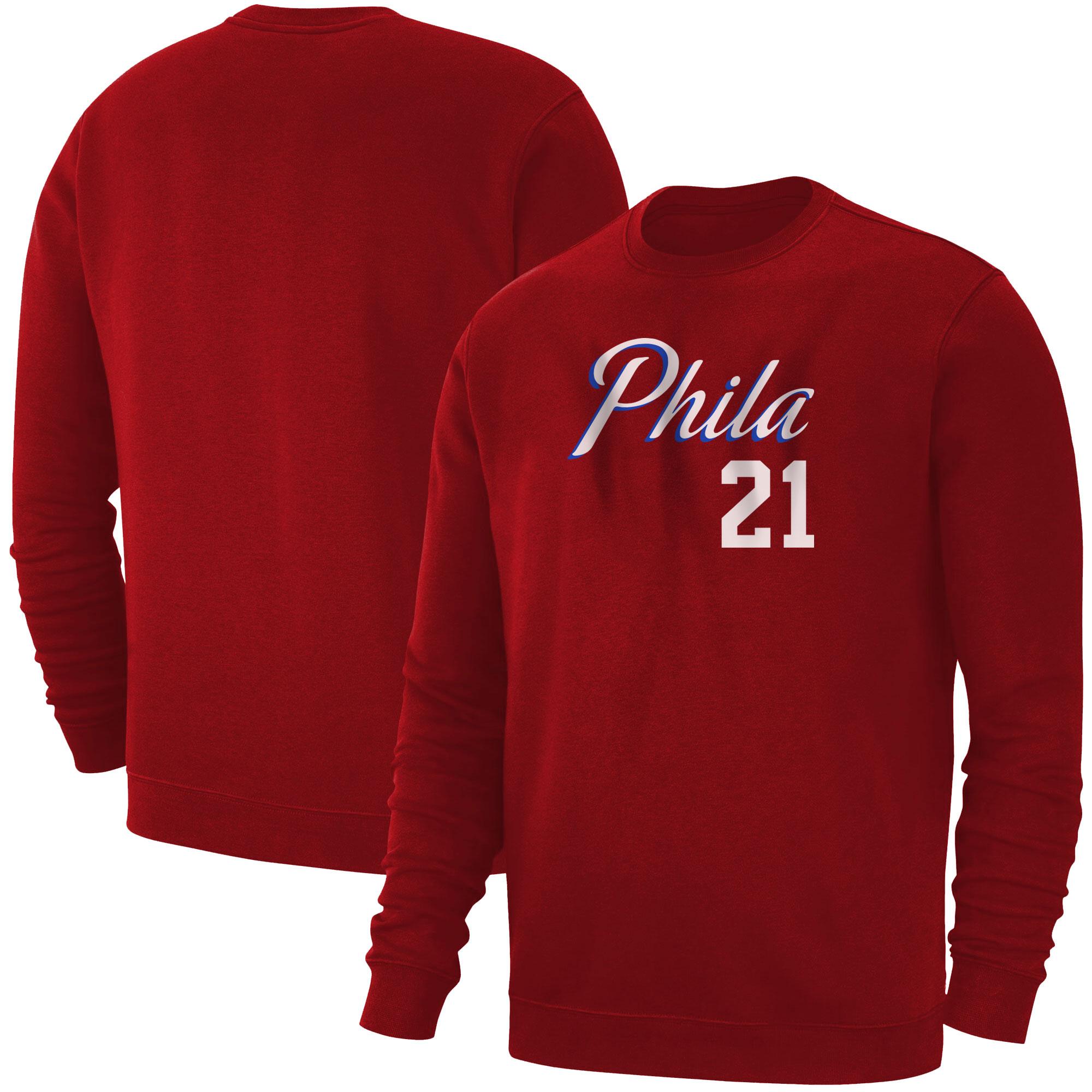 Philadelphia 76ers Joel Embiid Basic (BSC-RED-PLT-504-21)