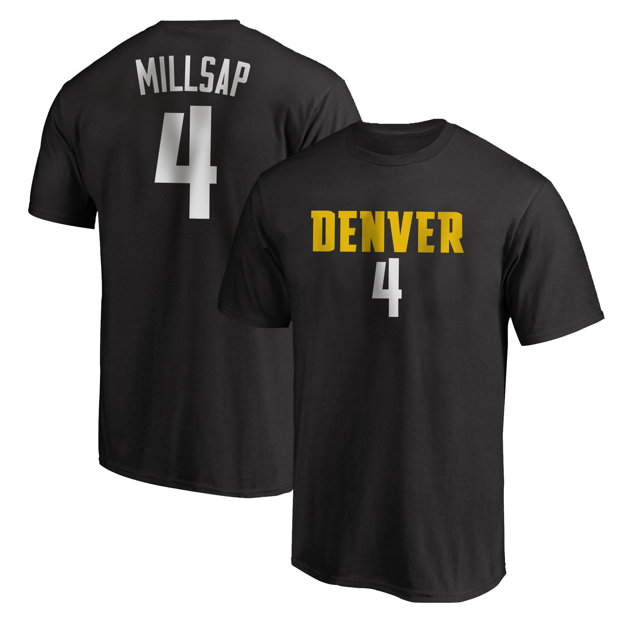 Denver Nuggets Paul Millsap Tshirt (TSH-BLC-PLT-505-4)
