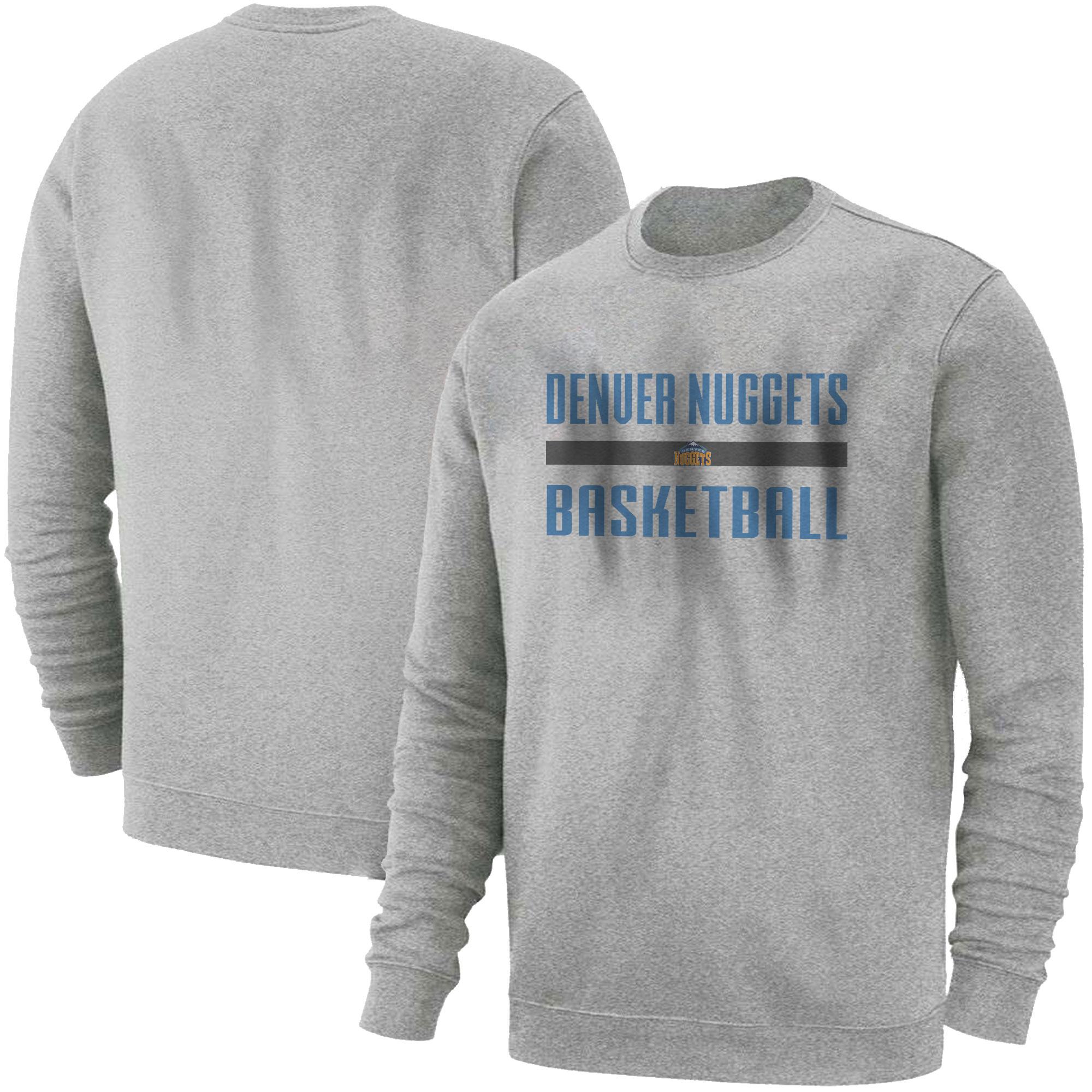Denver Basketball Basic (BSC-GRY-NP-nuggets.bsktbll-509)