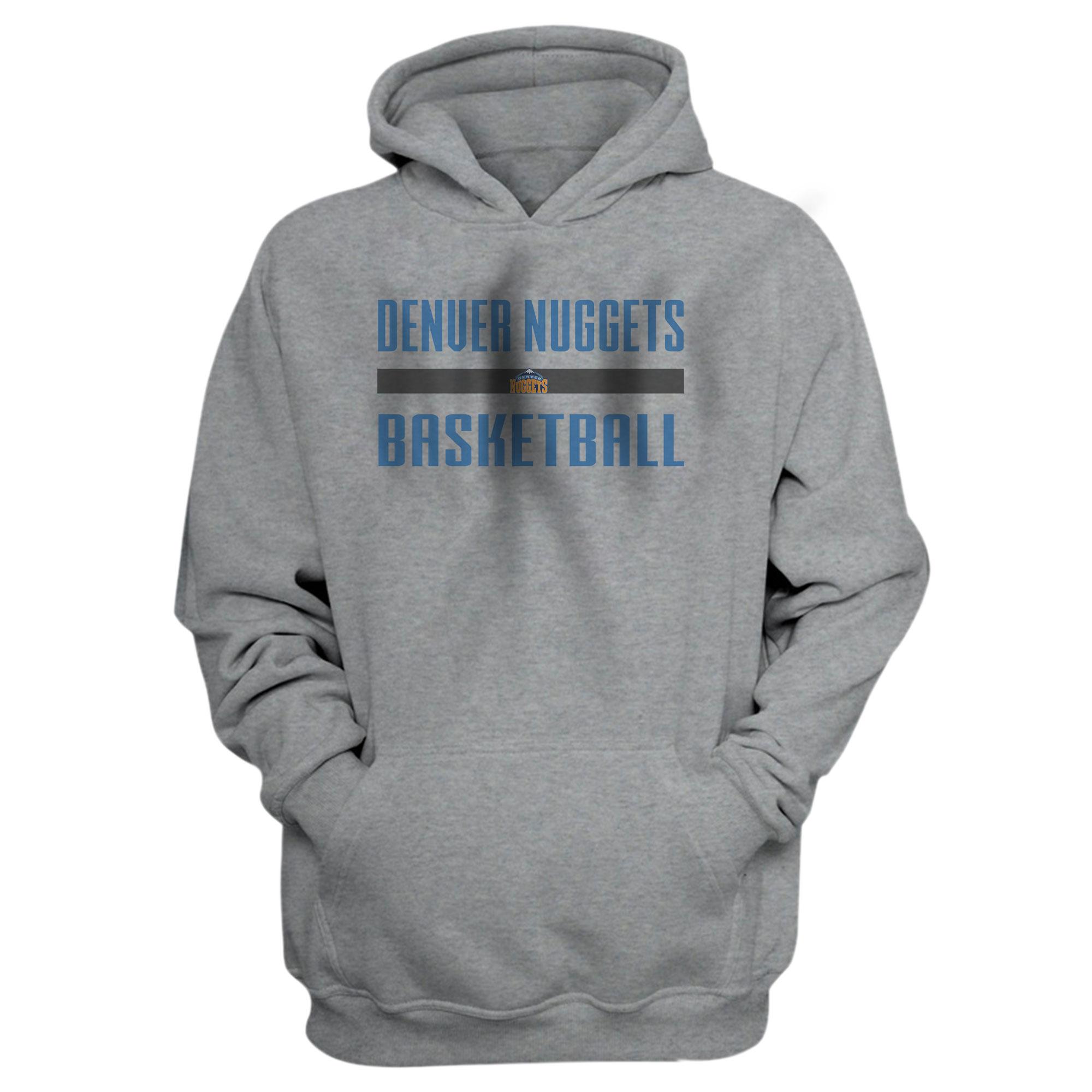 Denver Basketball Hoodie (HD-GRY-NP-nuggets.bsktbll-509)