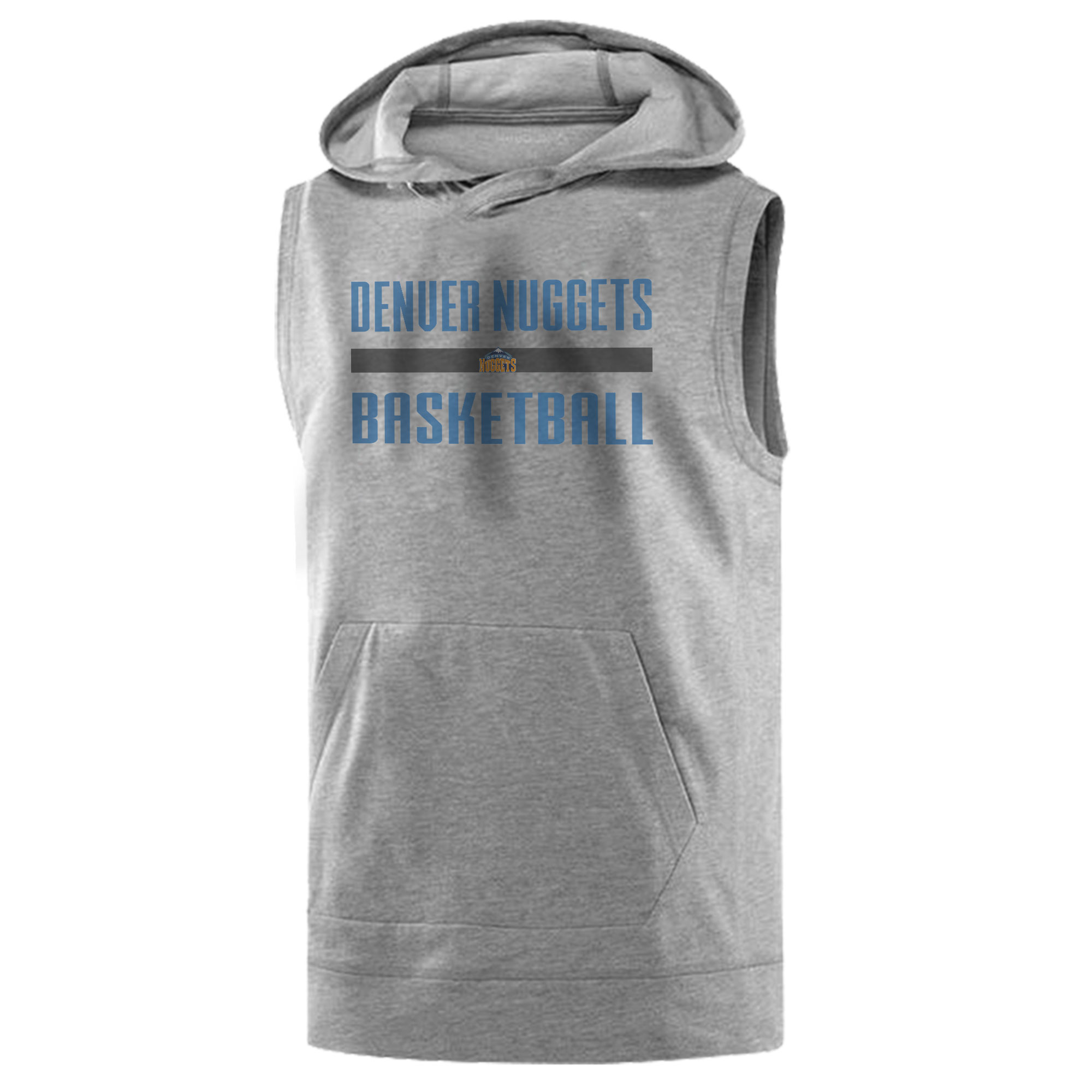 Denver Basketball Sleeveless (KLS-GRY-NP-nuggets.bsktbll-509)