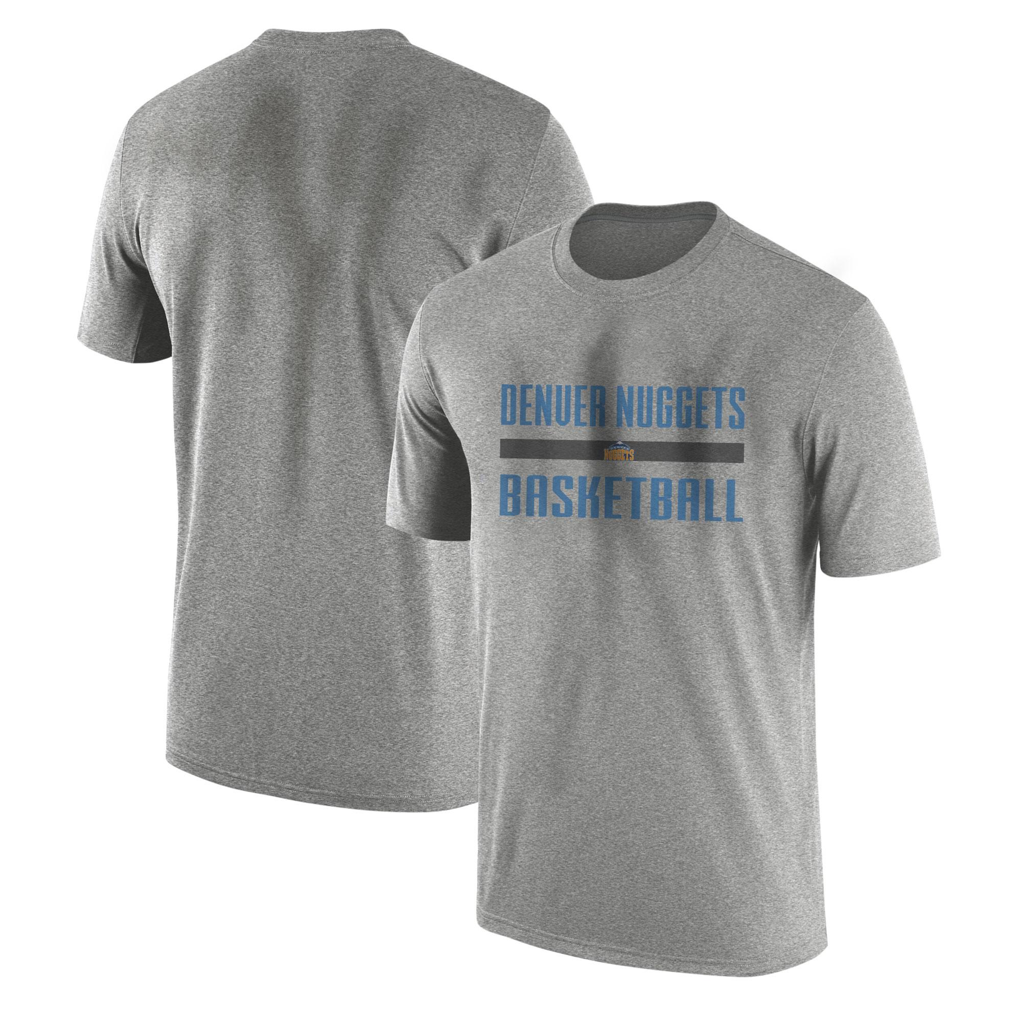 Denver  Basketball Tshirt (TSH-GRY-NP-nuggets.bsktbll-509)