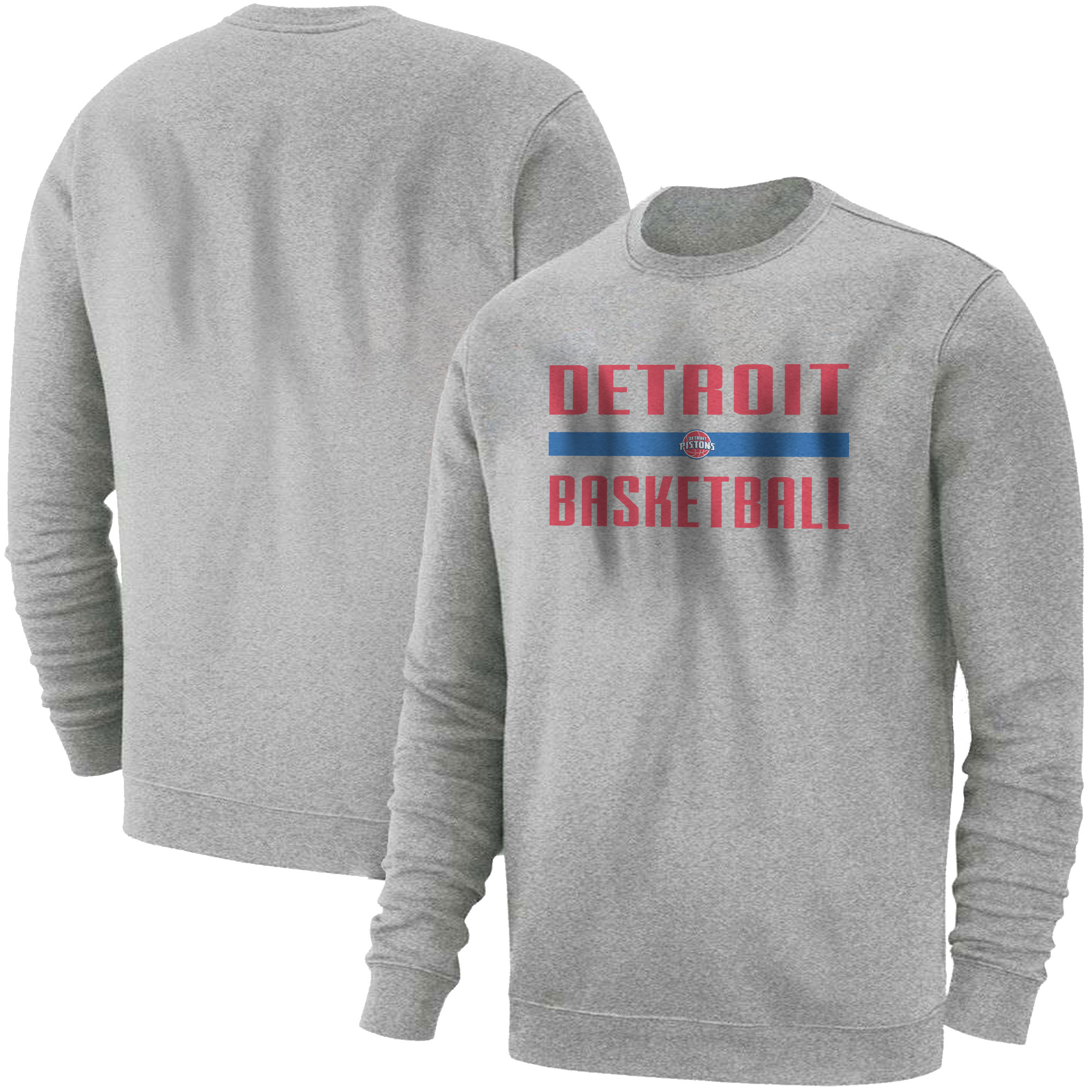 Detroit Basketball Basic (BSC-GRY-NP-detroit-bsktbll-510)