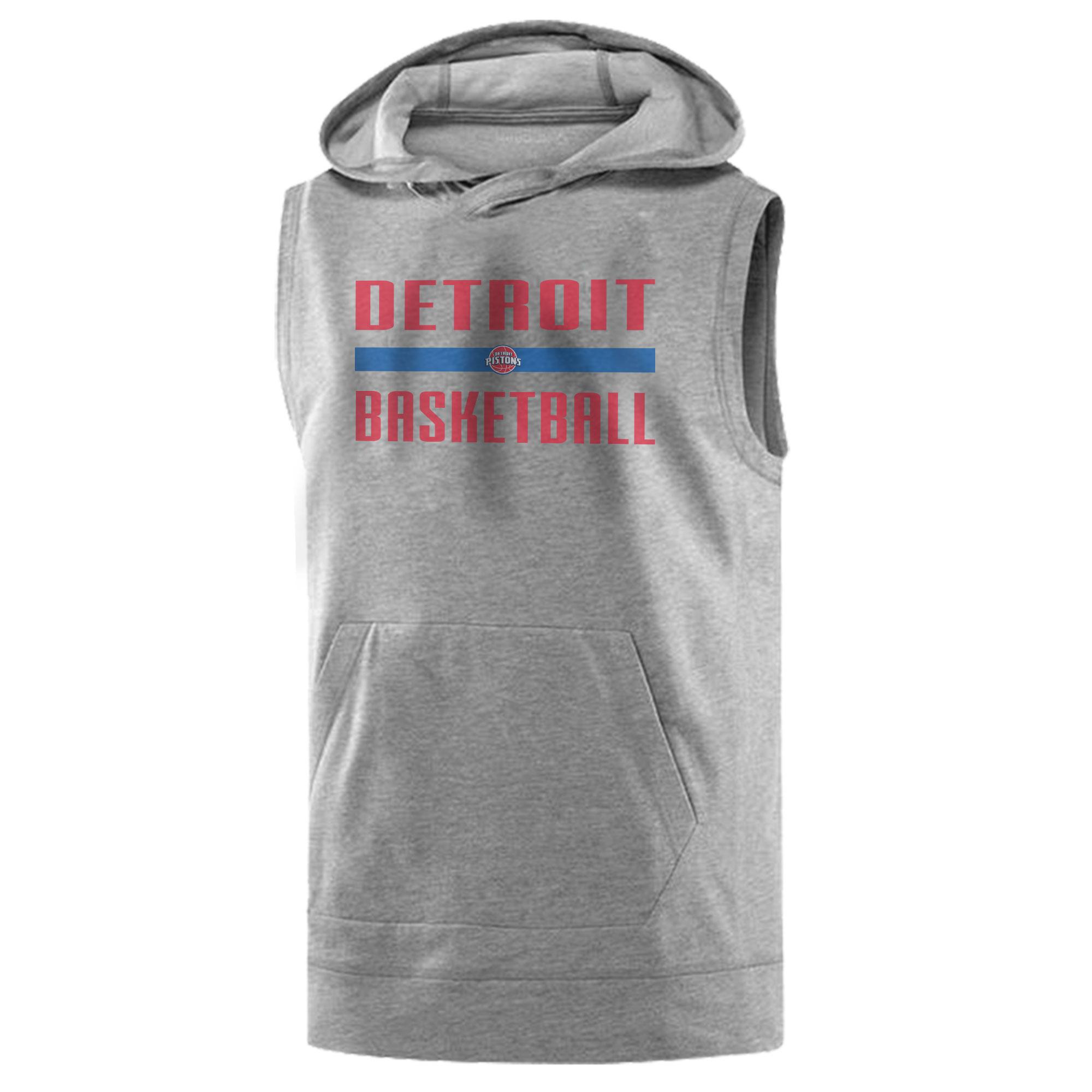 Detroit Basketball Sleeveless (KLS-GRY-NP-detroit-bsktbll-510)