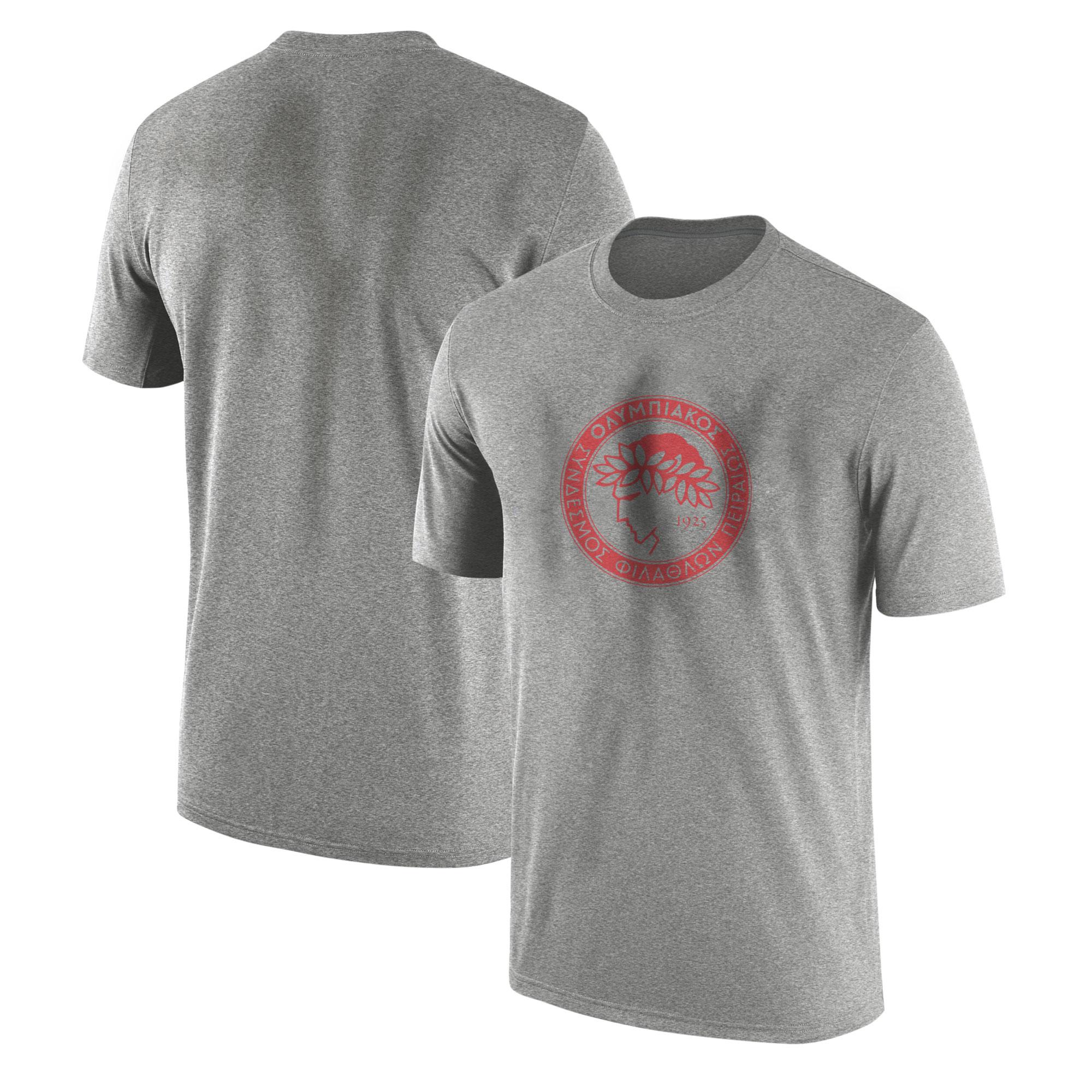 Euroleague Olympiakos Tshirt (TSH-GRY-NP-Euroleague-olympiakos01-514)