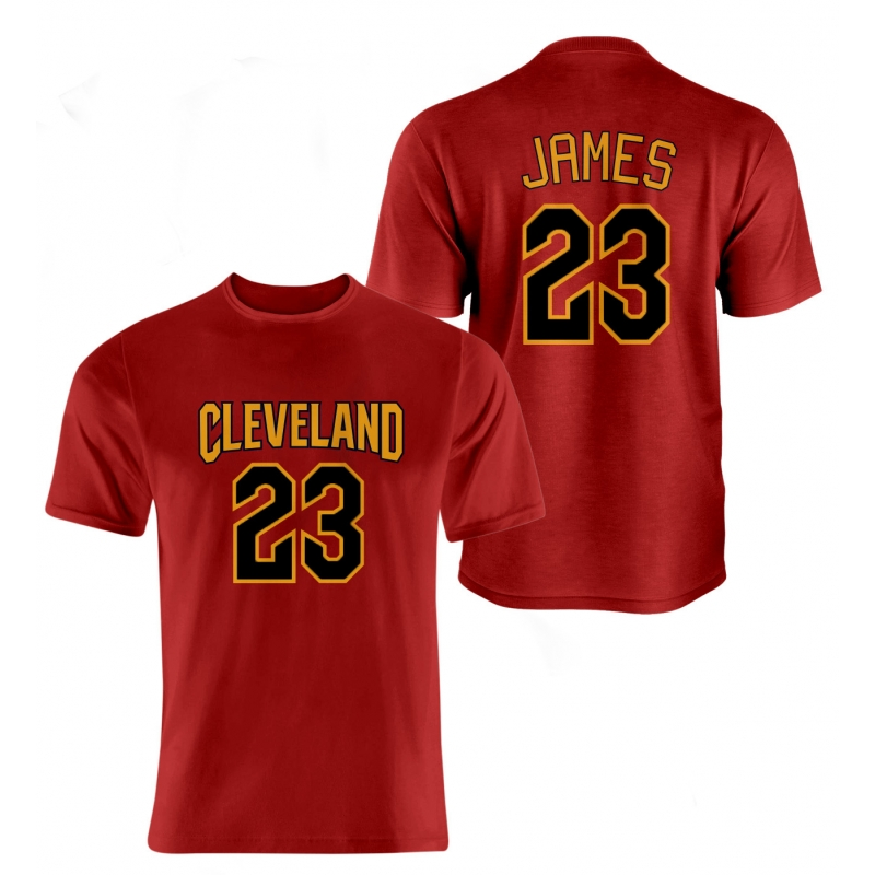 LeBron James Tshirt (TSH-WHT-52-PLYR-CLE-JAMES.FRM)