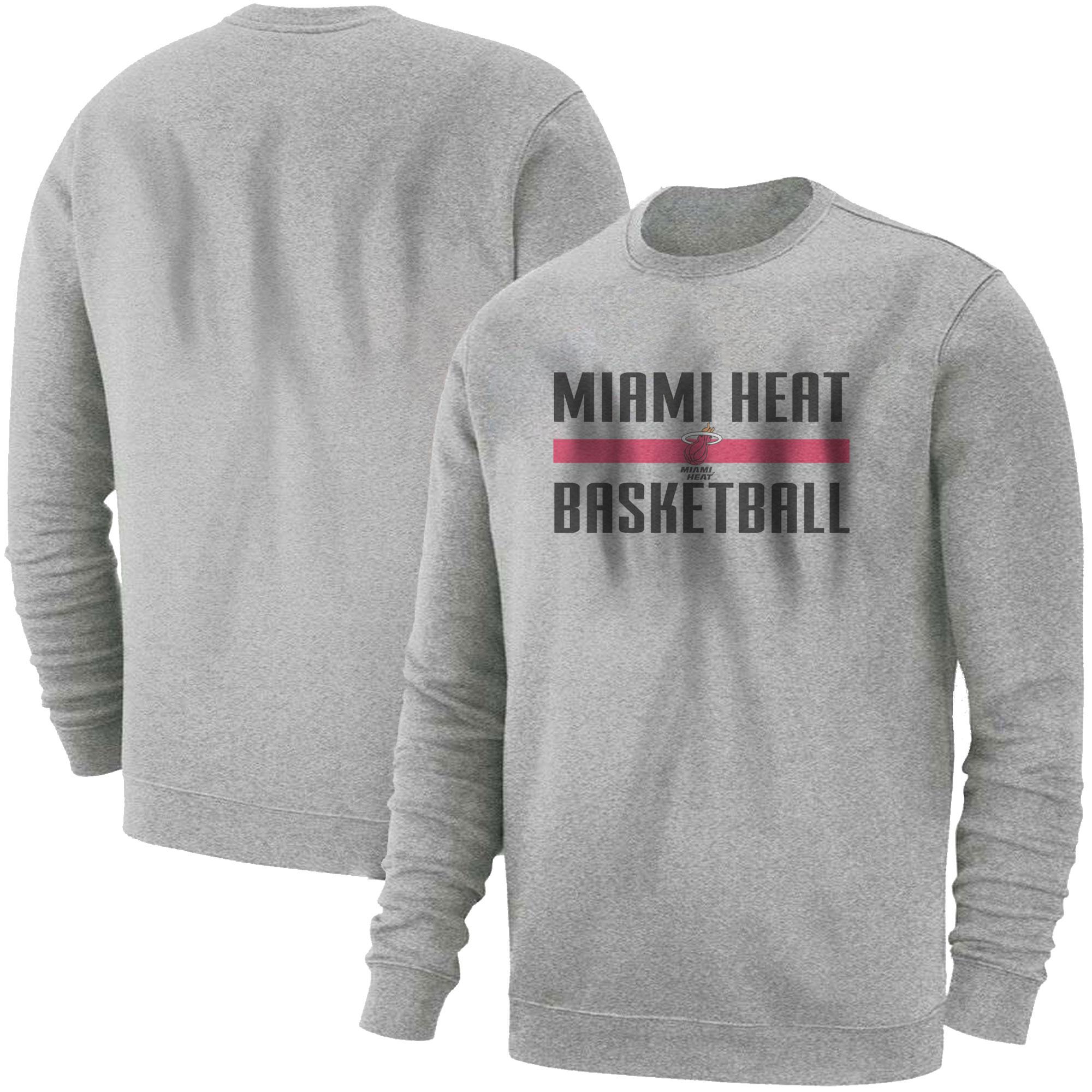 Miami Heat Basketball Basic (BSC-GRY-NP-miami-bsktbll-528)
