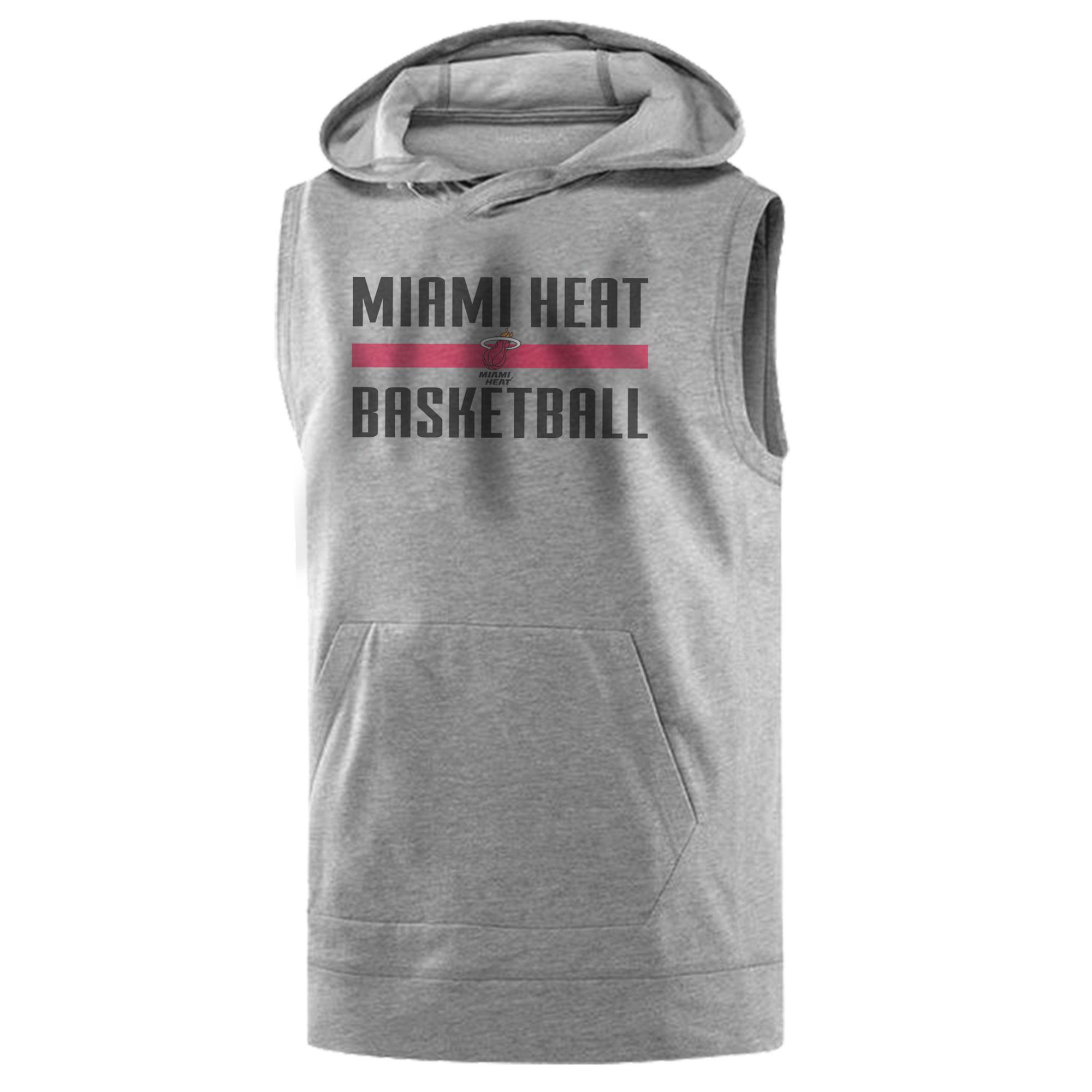 Miami Heat Basketball Sleeveless (KLS-GRY-NP-miami-bsktbll-528)