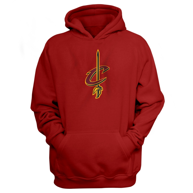 Cleveland Cavaliers Cleveland Cavalier Hoodie (HD-BLC-53-NBA-CLE-LOGO)