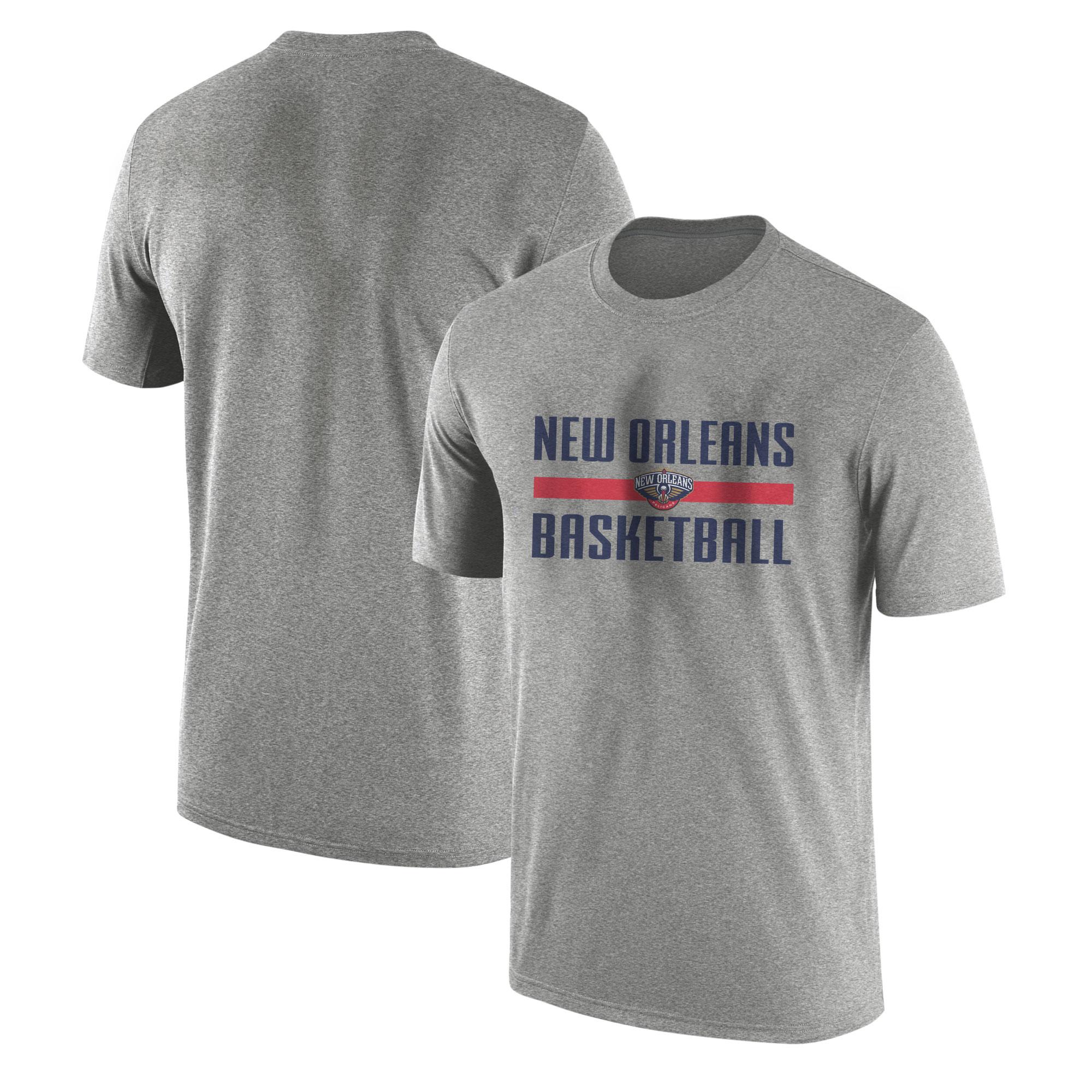 New Orleans Basketball Tshirt (TSH-GRY-NP-orlns.bsktbll-530)