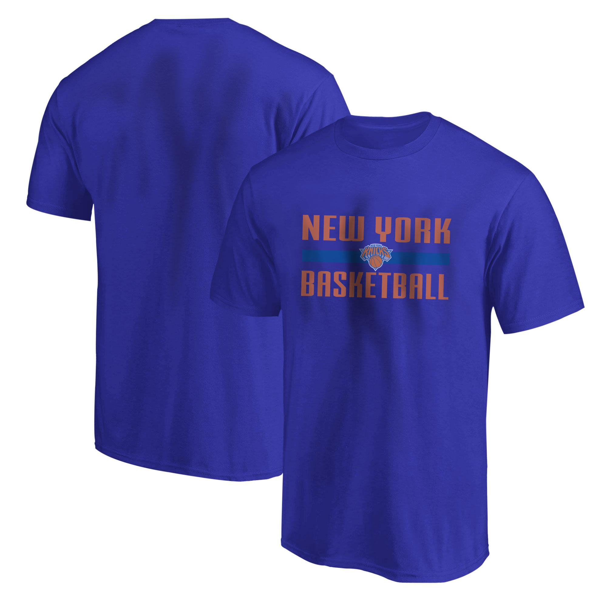 New York Knicks Basketball Tshirt (TSH-BLU-NP-knicks-bsktbll-531)
