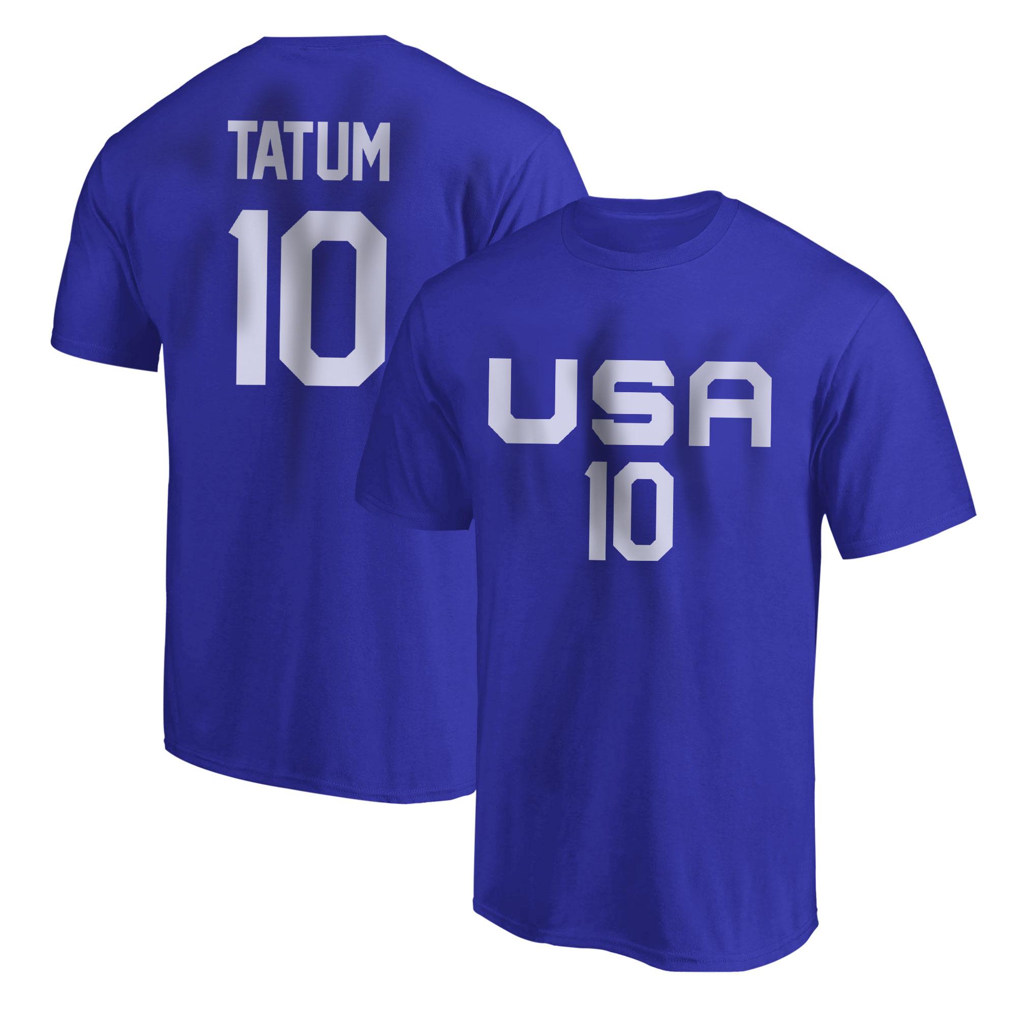 Olympic Team Jason Tatum Tshirt (TSH-RED-NP-532-10)