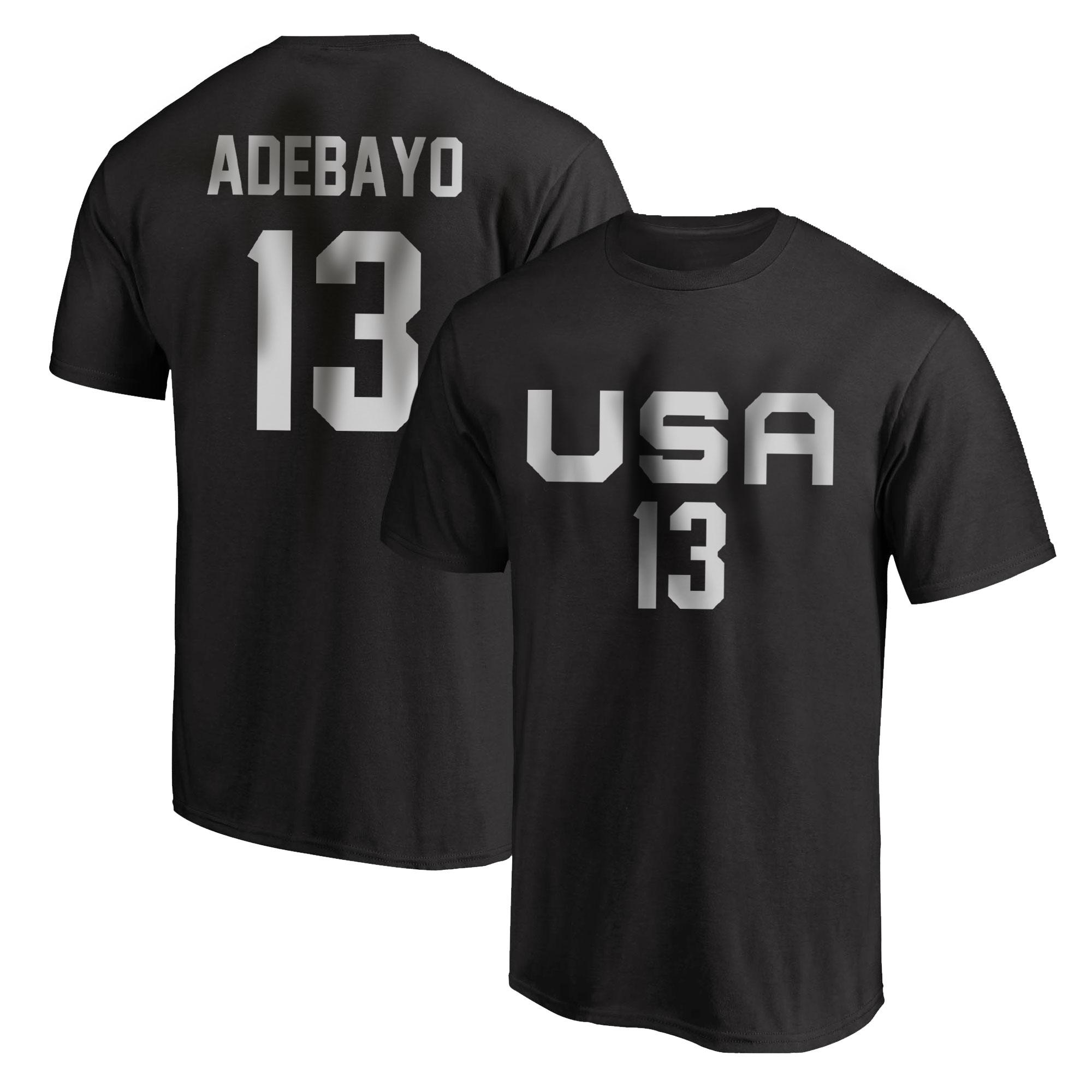 Olympic Team Bam Adebayo Tshirt (TSH-BLC-NP-532-13)