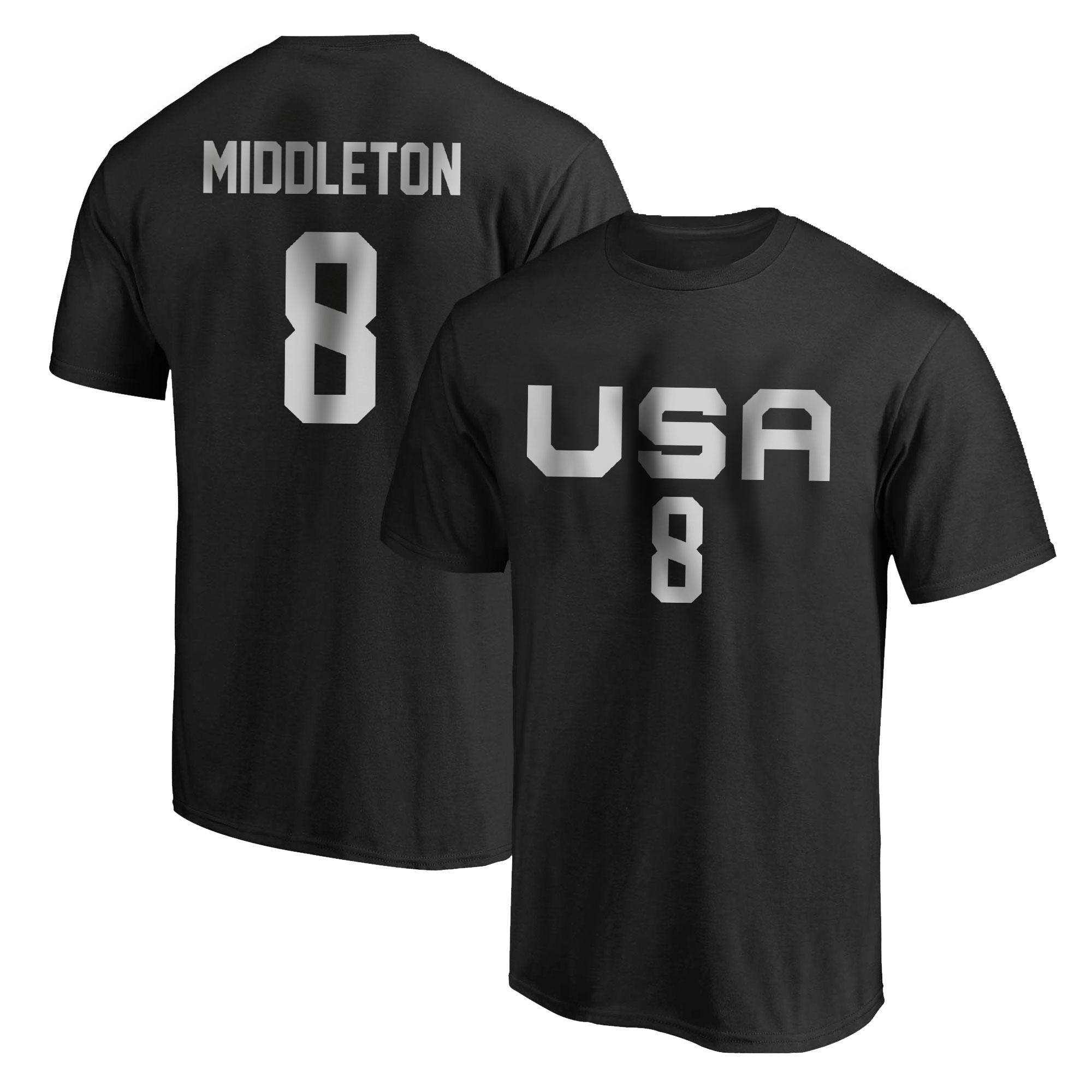 Olympic Team Khris Middleton Tshirt (TSH-BLC-NP-532-8)