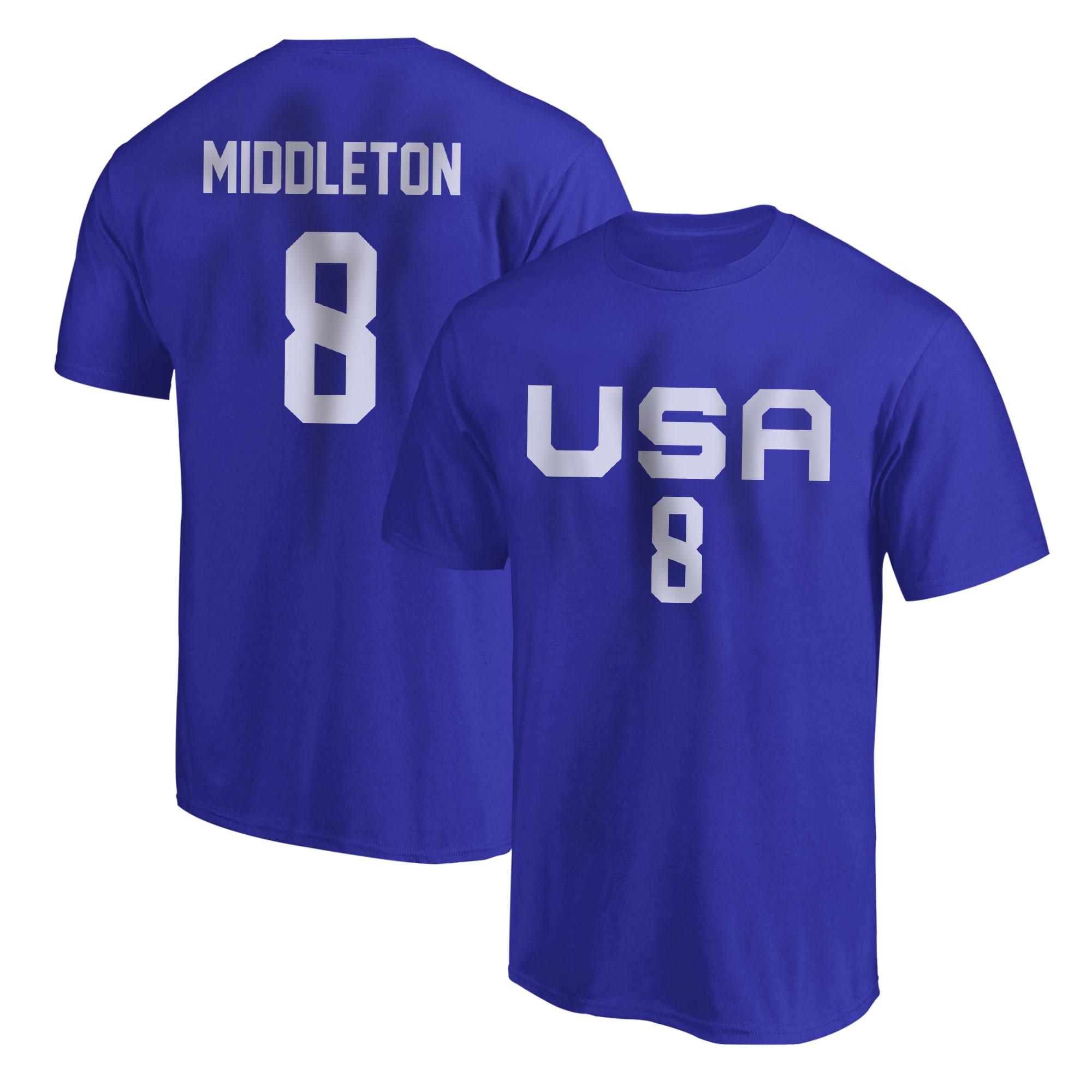 Olympic Team Khris Middleton Tshirt (TSH-BLU-NP-532-8)