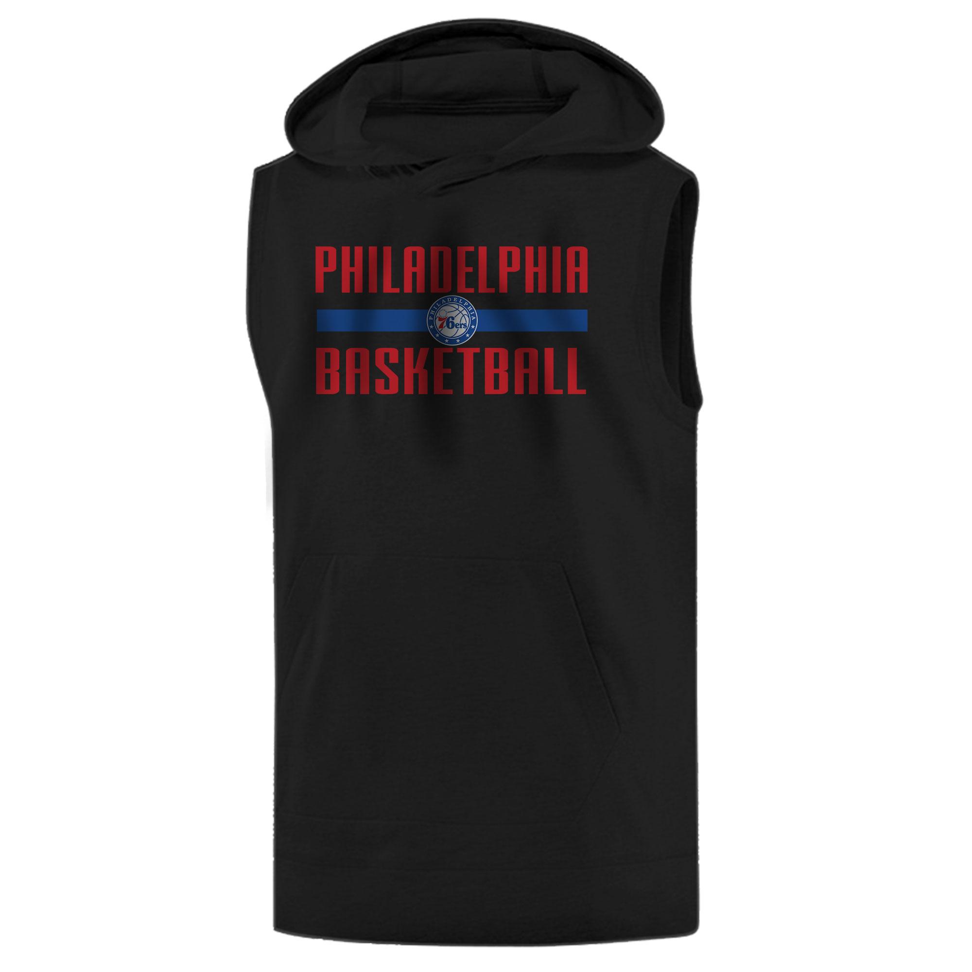 Philadelphia Basketball Sleeveless (KLS-BLC-NP-phila.bsktbll-534)