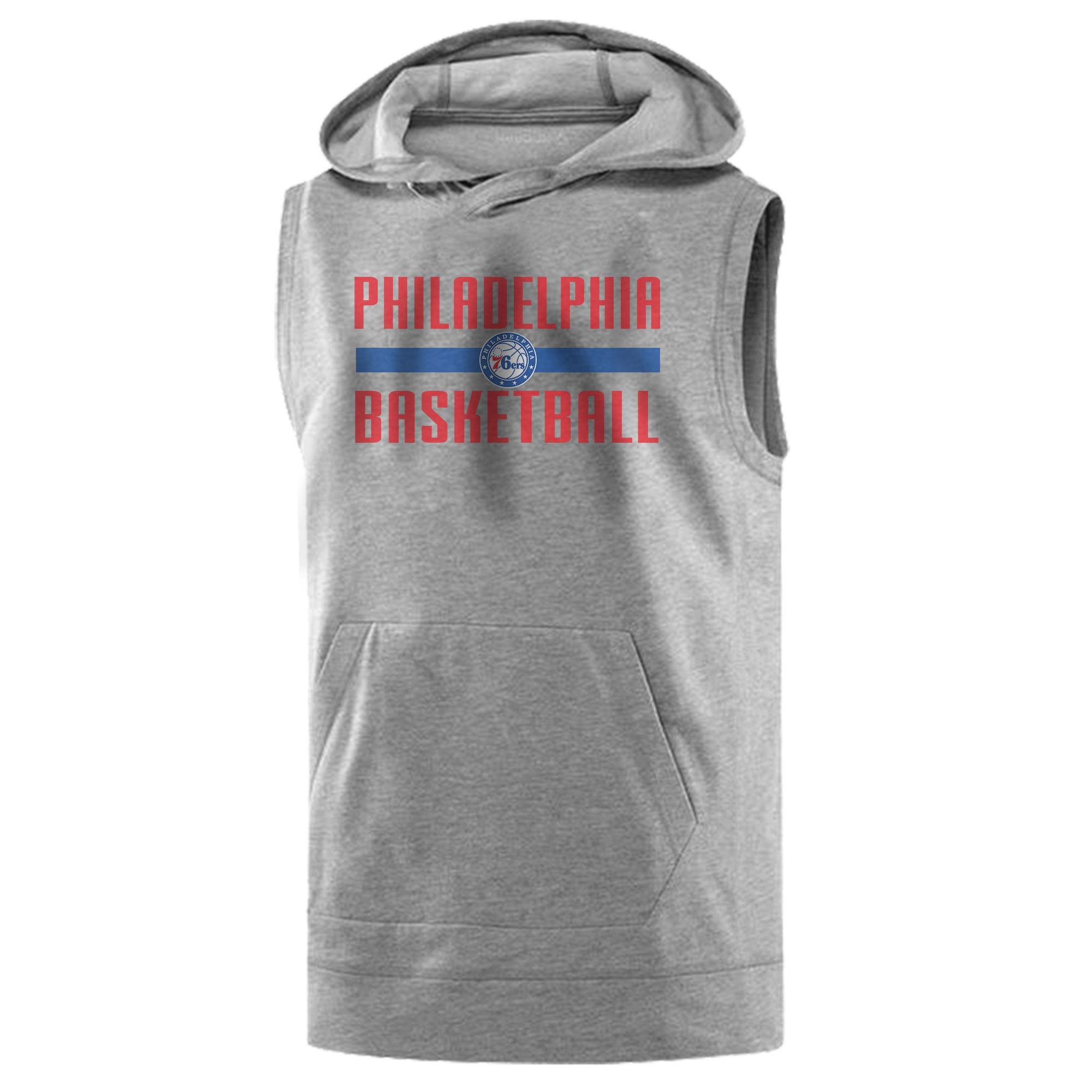 Philadelphia Basketball Sleeveless (KLS-GRY-NP-phila.bsktbll-534)