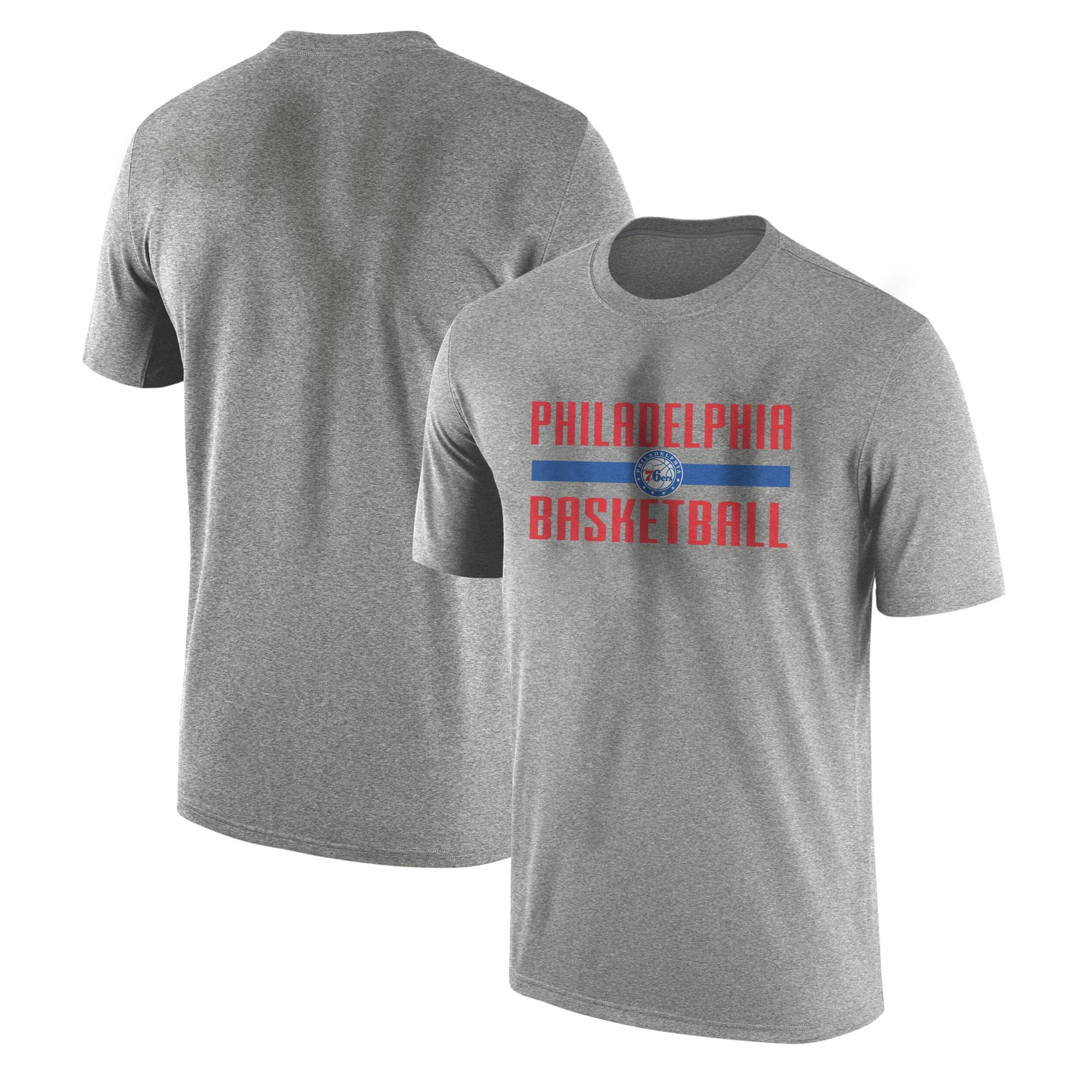 Philadelphia Basketball Tshirt (TSH-GRY-NP-phila.bsktbll-534)
