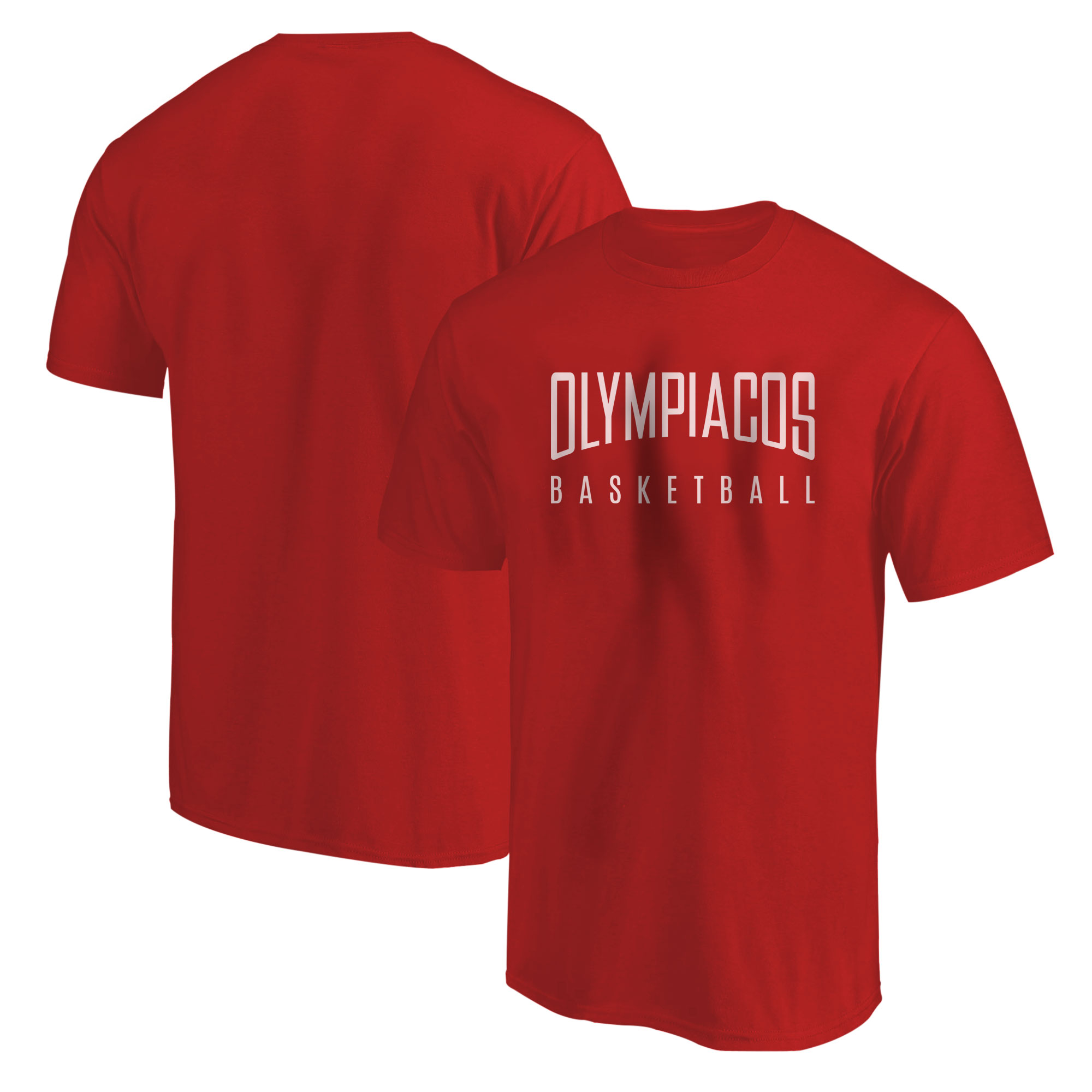 Olympiakos Basketball Tshirt (TSH-RED-NP-OLYMPIAKOS-609)