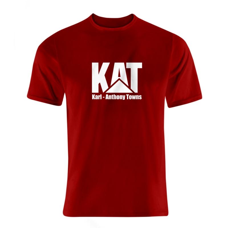 Minnesota Timberwolves Karl Anthony Towns Tshirt (TSH-BLC-NP-kat-logo-616)