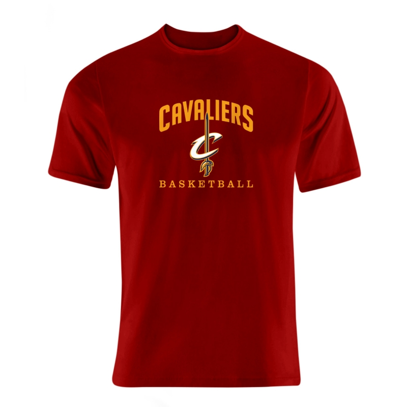 Cleveland Cavaliers Tshirt (TSH-BLC-NP-62-NBA-CLE-CAVS.FLAT)