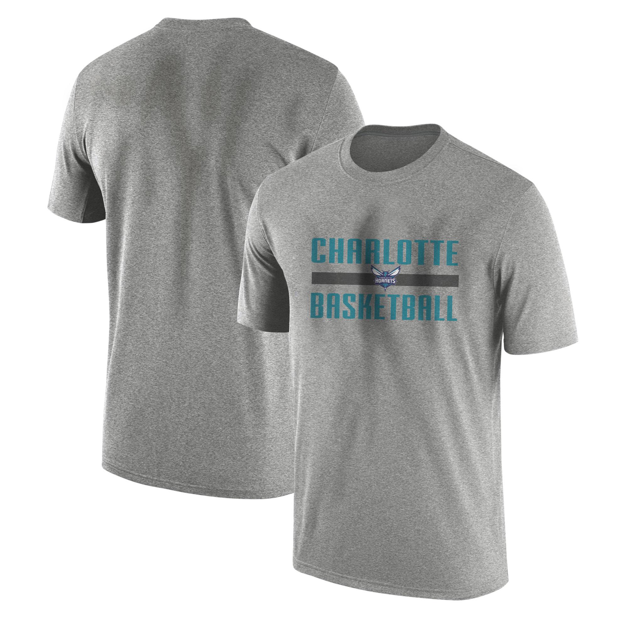 Charlotte Basketball Tshirt (TSH-GRY-NP-charlotte-basketball-653)