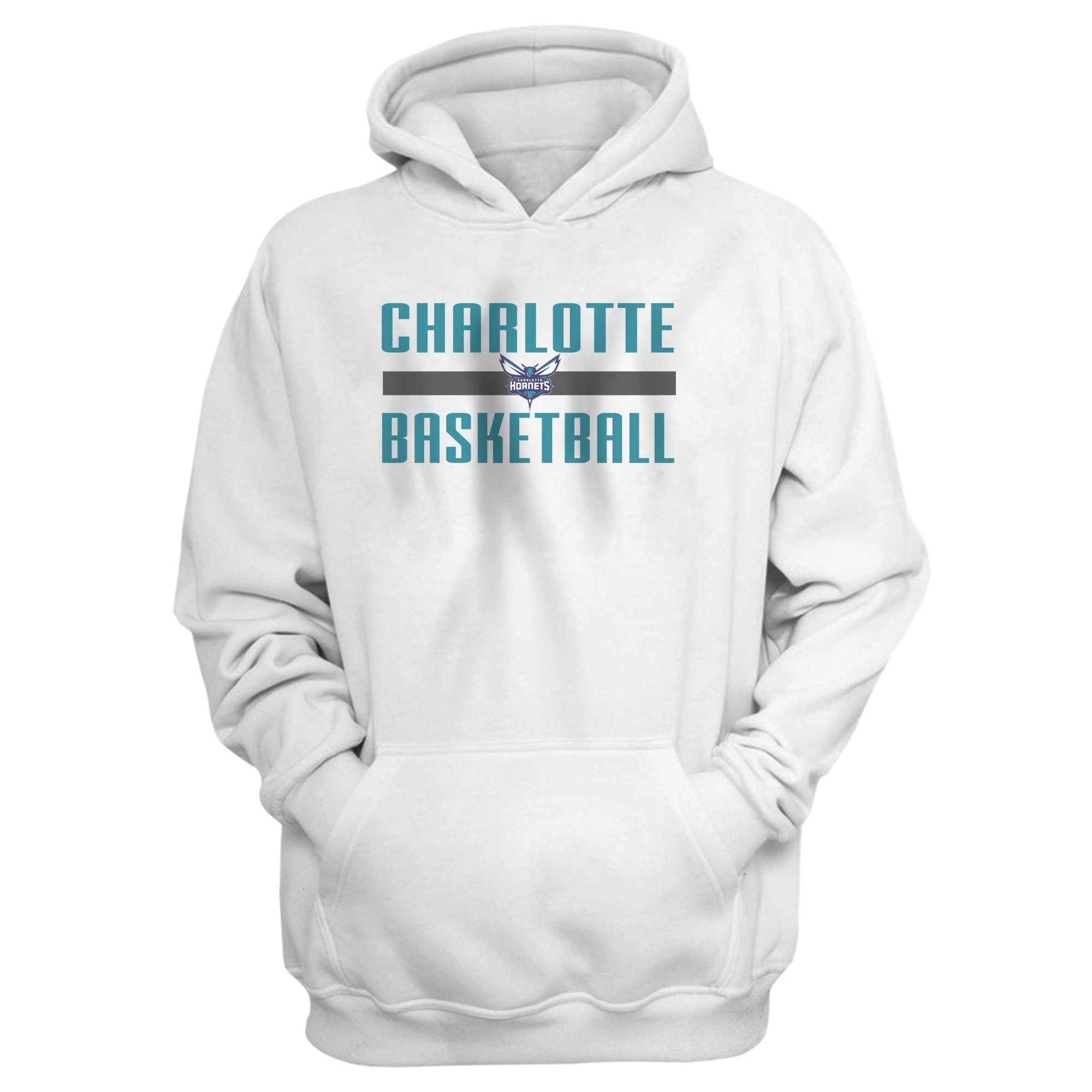 Charlotte Basketball Hoodie (HD-GRY-NP-charlotte-basketball-653)