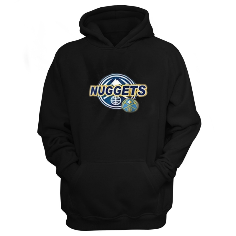 Denver Nuggets Nuggets Hoodie (HD-WHT-72-NBA-DEN-NUG.CIRCLE)
