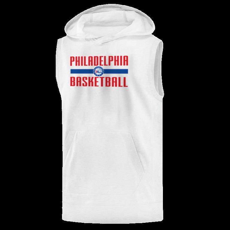 Philadelphia Basketball Sleeveless (KLS-wht-NP-phila.bsktbll-534)