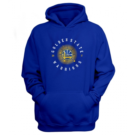 Golden State Warriors Hoodie (HD-BLC-77-NBA-GSW-LOGO.2017)