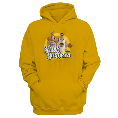 Golden State Warriors Splash Brothers Hoodie (HD-GRY-82-PLYR-GSW-SPLASH.BRO)