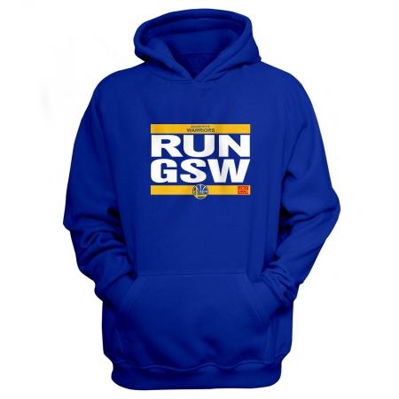 Golden State Warriors Run Gsw Hoodie (HD-YLW-88-NBA-GSW-RUN)