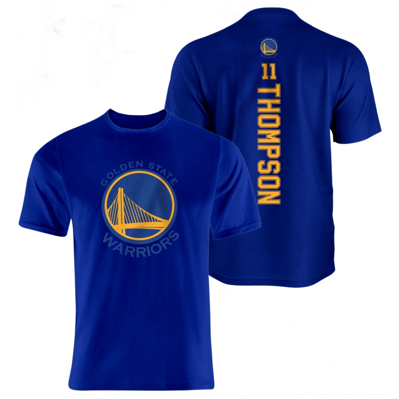 Golden State Warriors Klay Thompson Vertical Tshirt (TSH-WHT-096-PLYR-GSW-THOMPSON.VER)