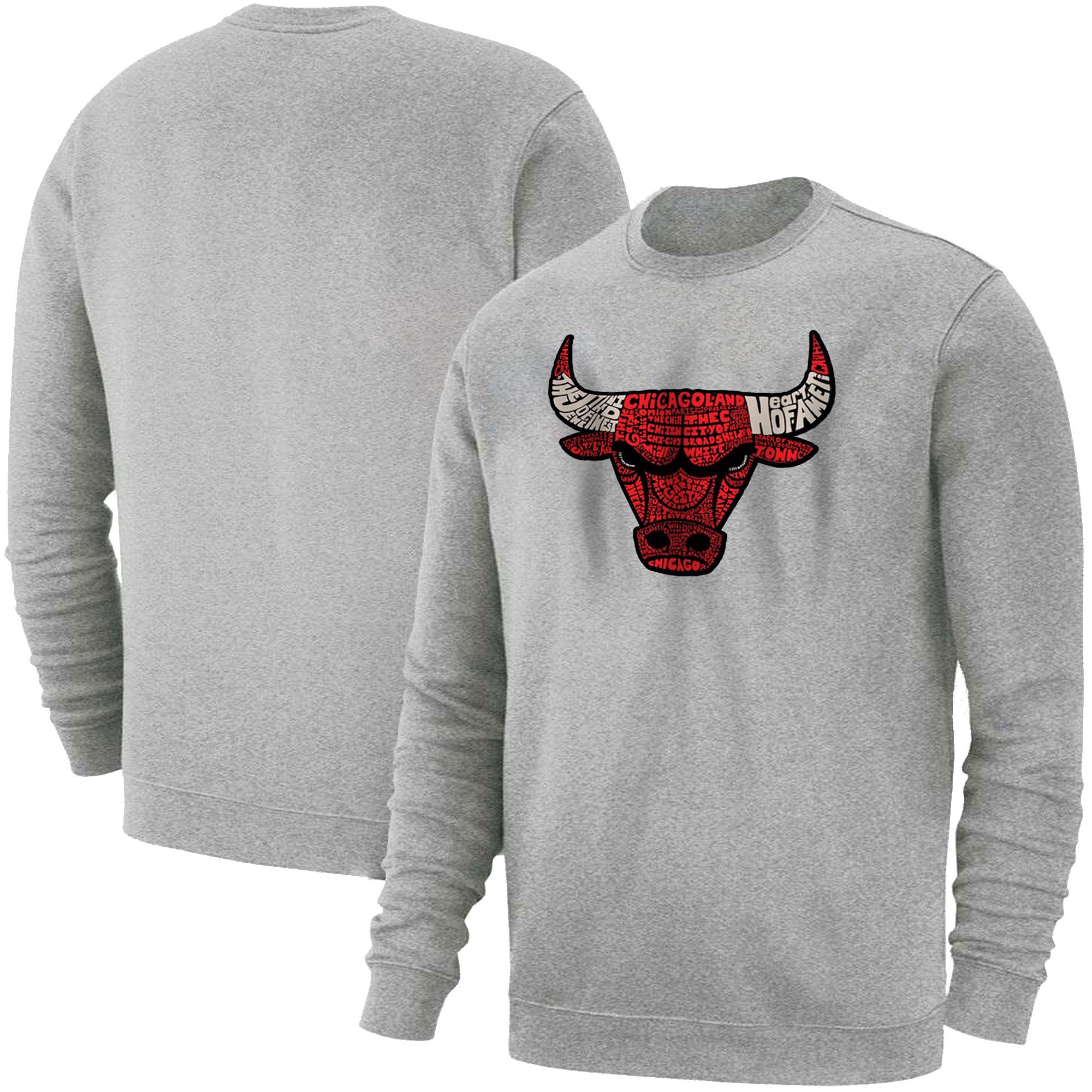 Chicago Bulls Basic (BSC-GRY-517-NBA-CHI-BULLS)