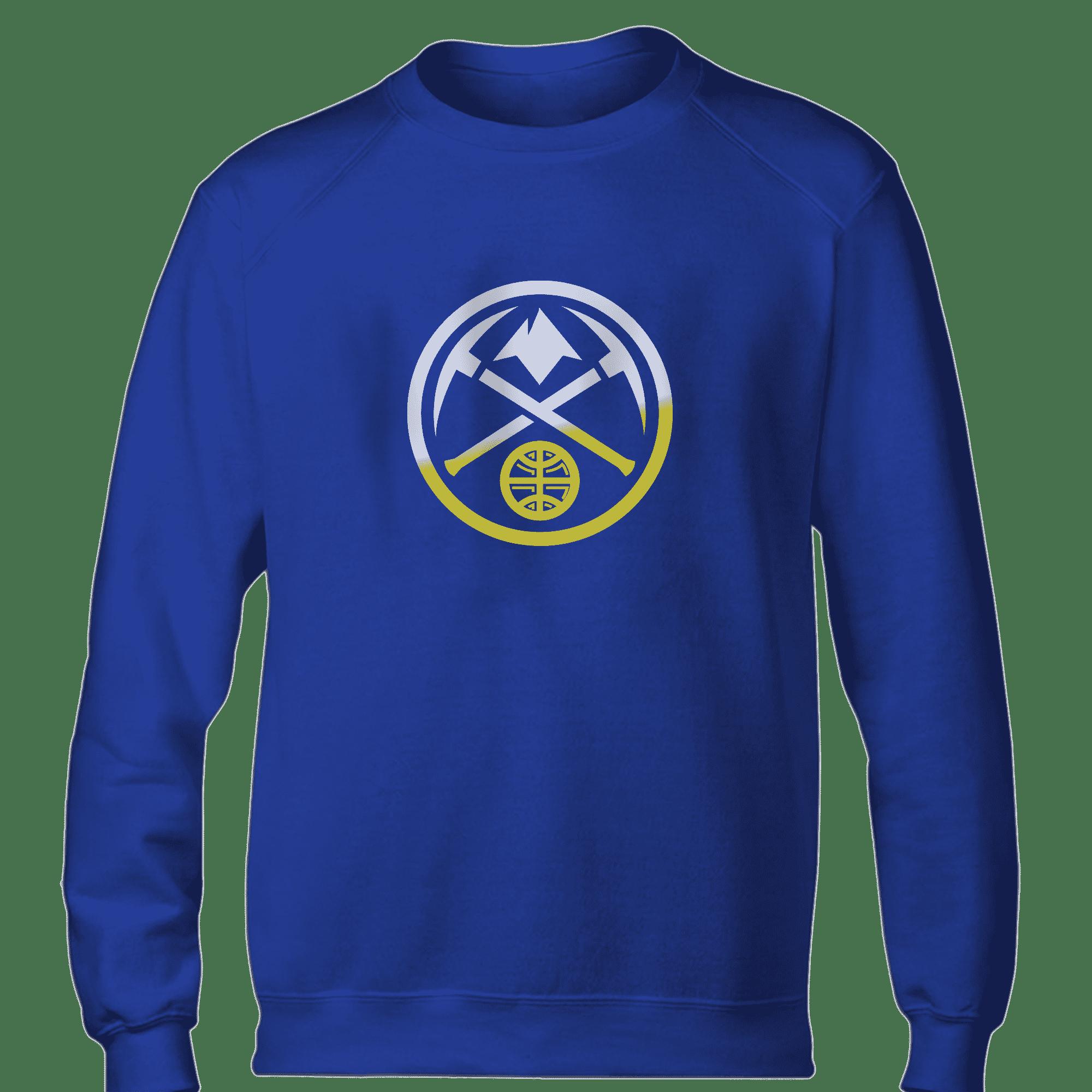 Denver Nuggets Logo Basic (BSC-BLU-NP-305-NBA-denver-nuggets-logo)