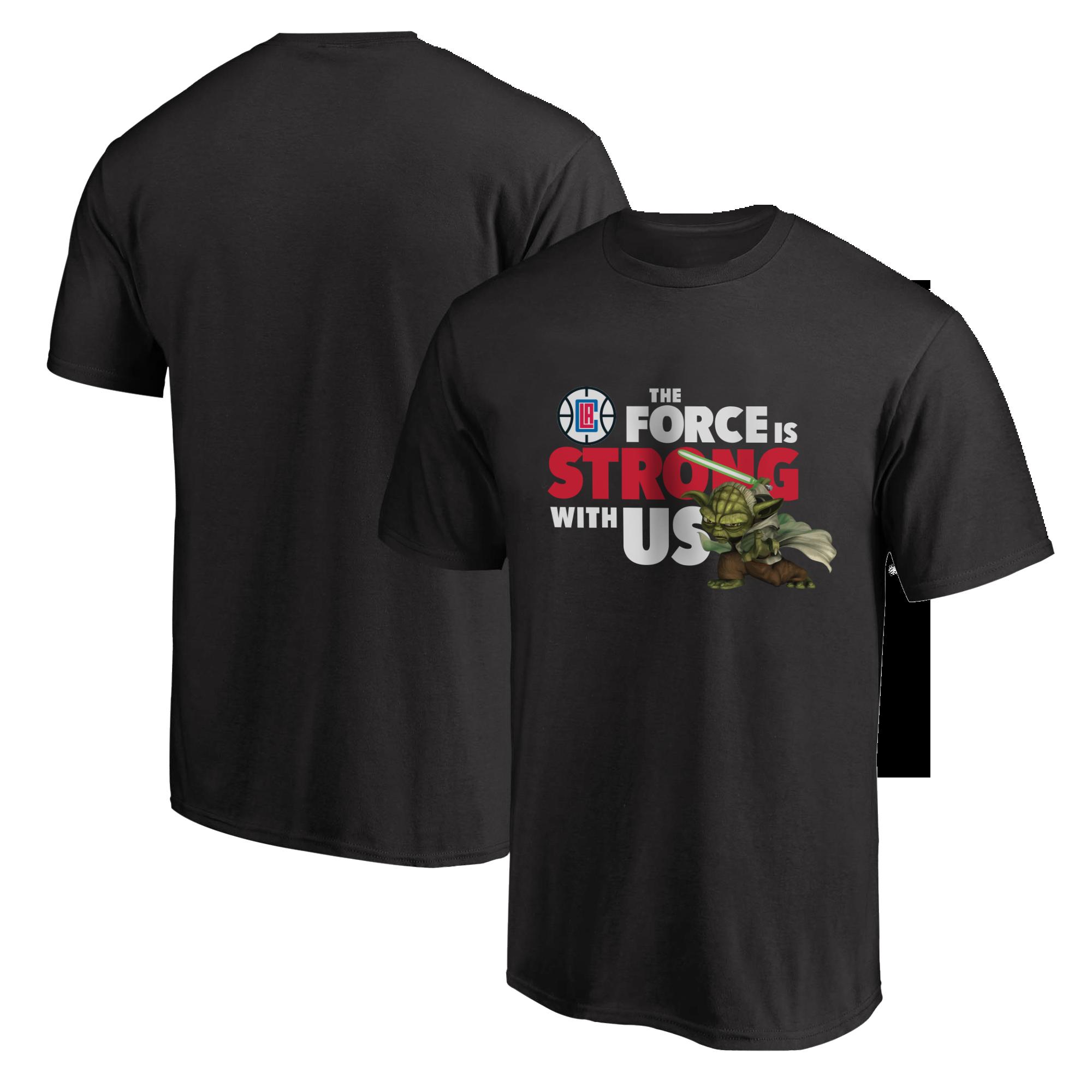 L.A. Clippers JEDI Tshirt (TSH-BLC-NP-301-NBA-LAC-JEDI)