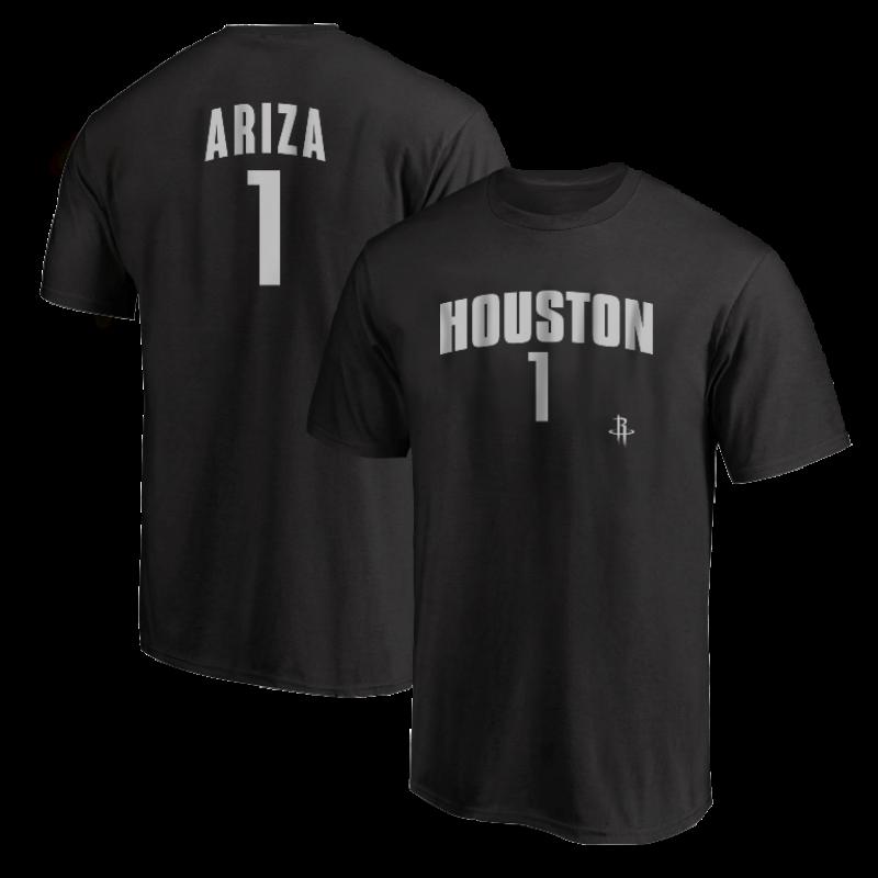 Houston Rockets Trevor Ariza Tshirt (TSH-RED-PLT-Ariza1-632)