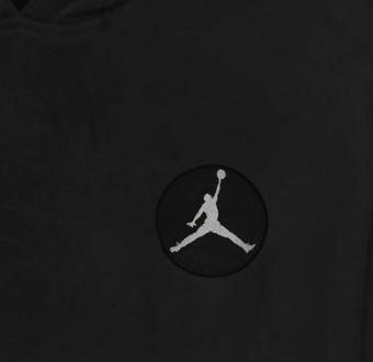 Jordan Hoodie (Örme)  (HD-BLC-EMBR-JORDAN-BLACK)