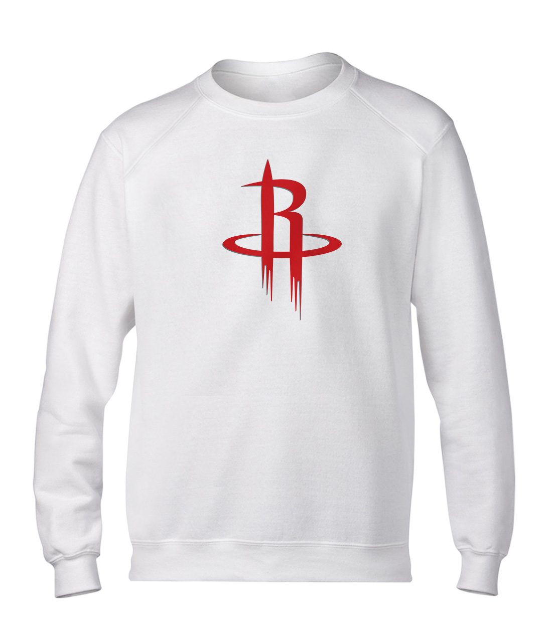 Houston Rockets Basic (BSC-WHT-NP-114-NBA-HOU-LOGO)