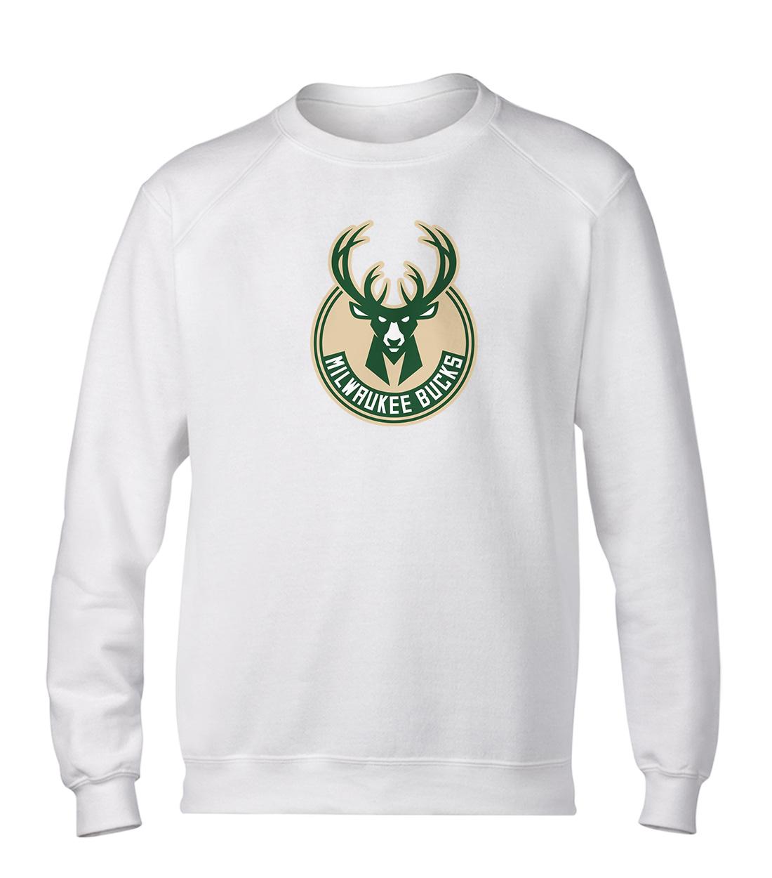 Milwaukee Bucks Basic (BSC-WHT-NP-151-NBA-MIL-LOGO)
