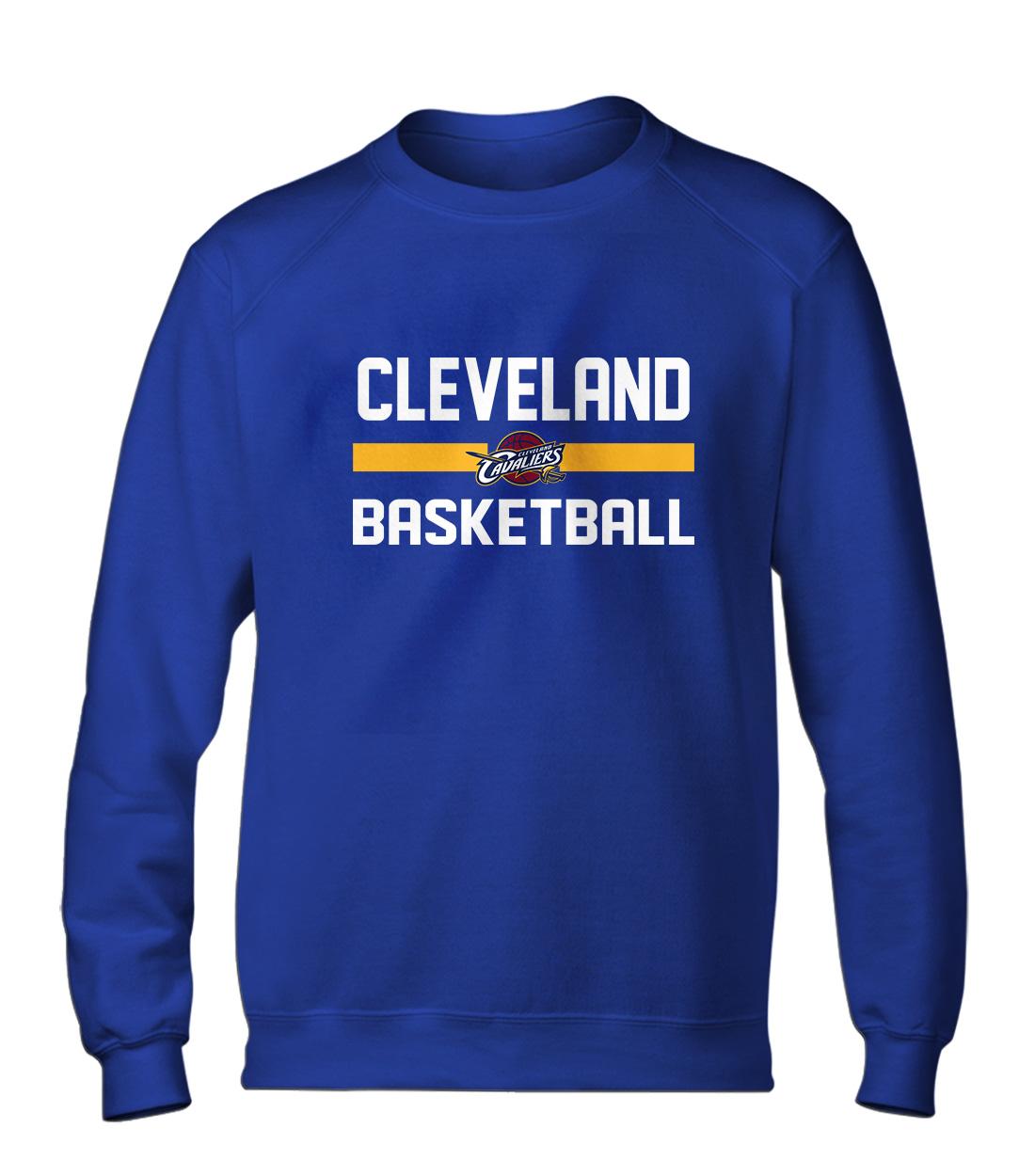 Cleveland Basketball Basic (BSC-BLU-NP-66-NBA-CLE-BASKETBALL)