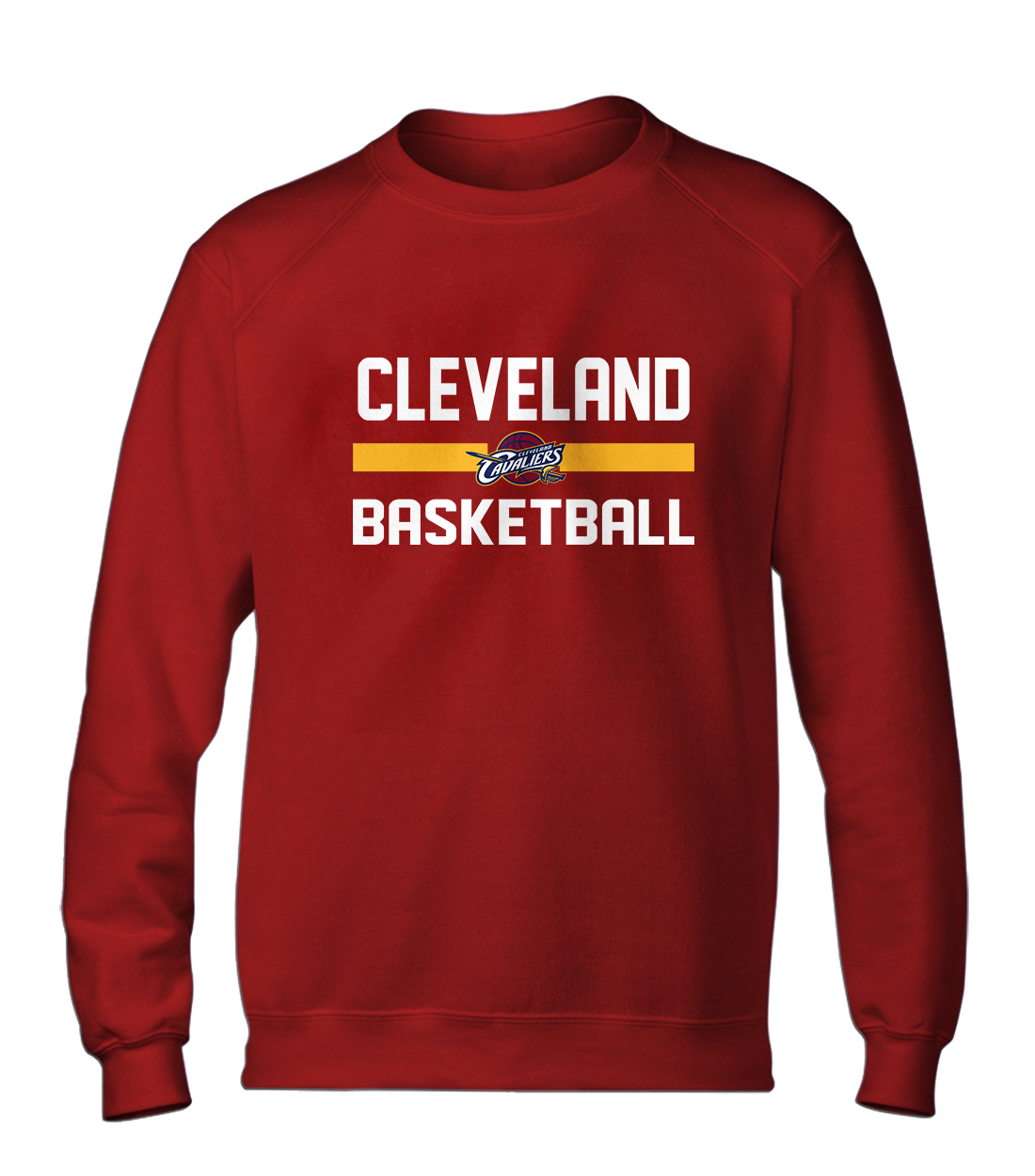Cleveland Basketball Basic (BSC-RED-NP-66-NBA-CLE-BASKETBALL)