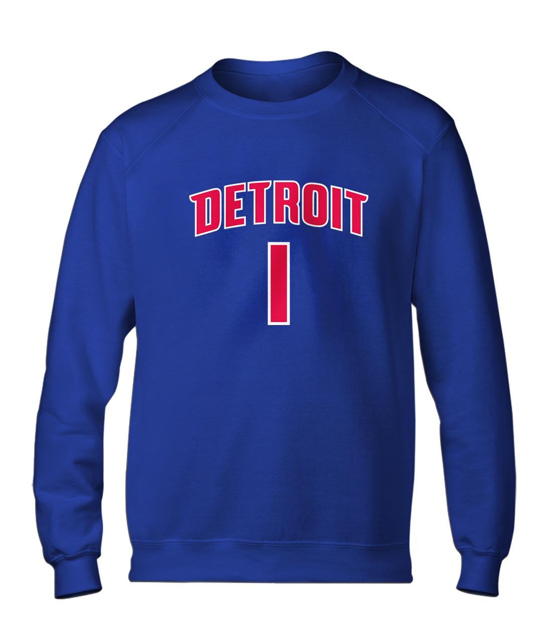 Detroit Pistons Chauncey Billups Basic (BSC-BLU-NP-75-PLYR-DET-BILLUPS.FRM)