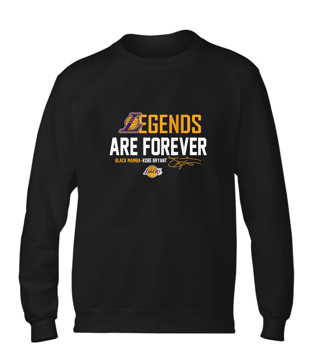 L.A. Lakers Lakers Legends Are Forever Basic (BSC-BLC-131-PLYR-LAL-KOBE.LEGENDS)