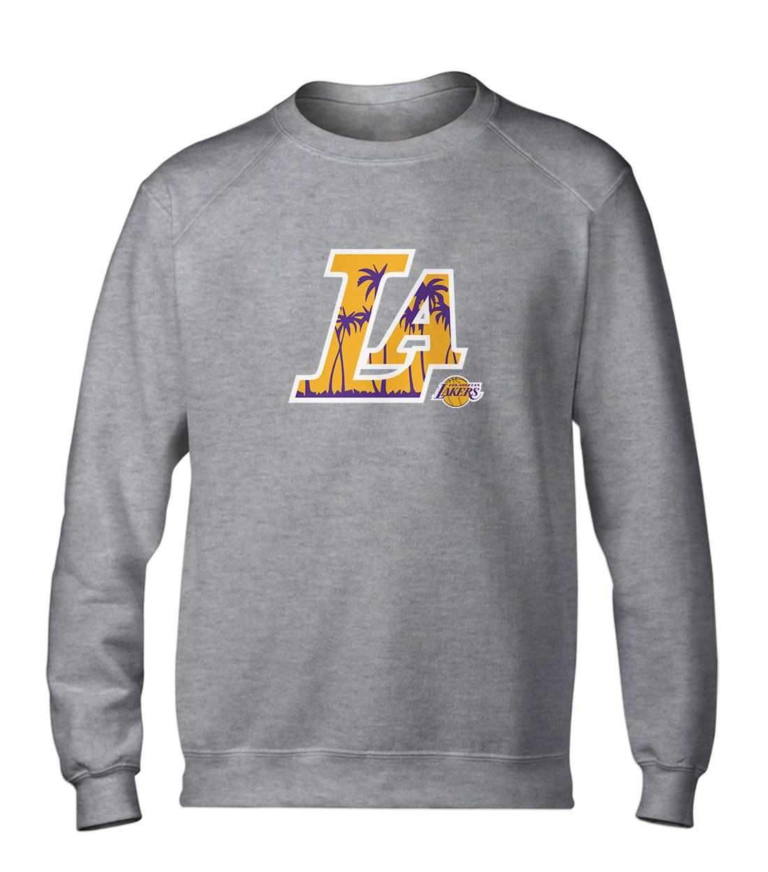L.A. Lakers  Basic (BSC-GRY-NP-142-NBA-LAL-L.A.)