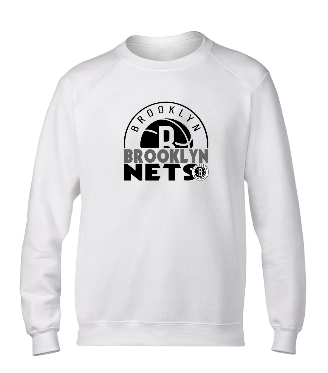 Brooklyn Nets Basic (BSC-WHT-NP-357-NBA-Brklyn.Nets)