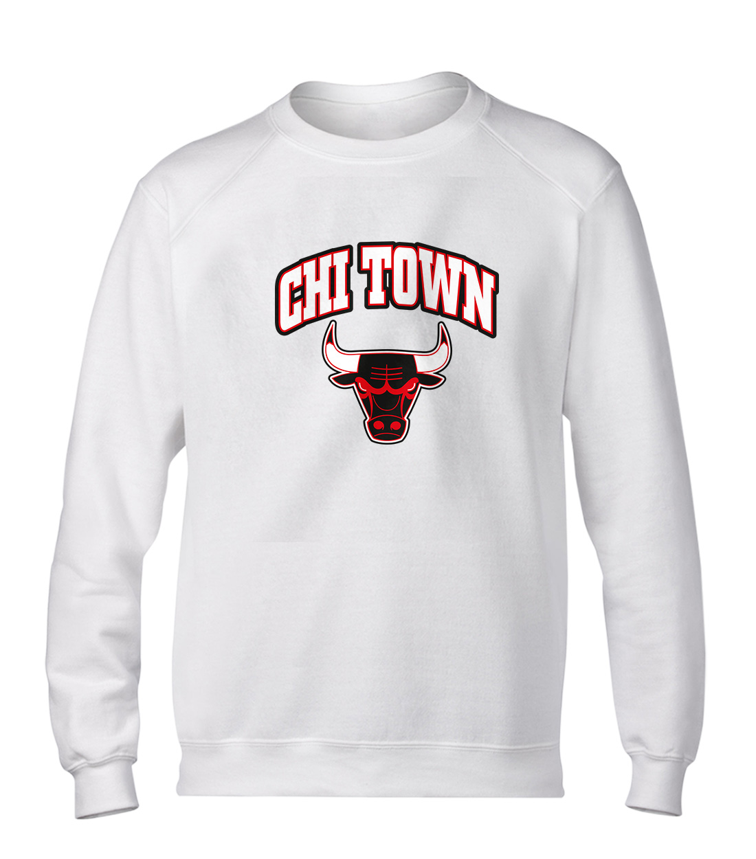 Chicago Bulls Chi Town  Basic (BSC-WHT-NP-47-NBA-CHI-TOWN)