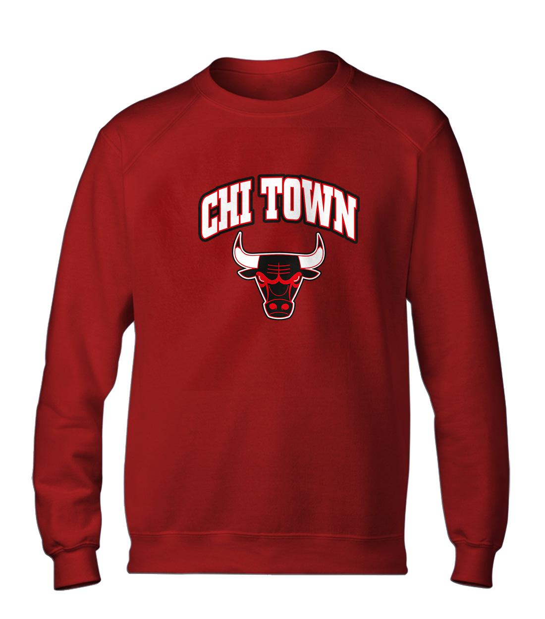 Chicago Bulls Chi  Basic (BSC-RED-NP-47-NBA-CHI-TOWN)